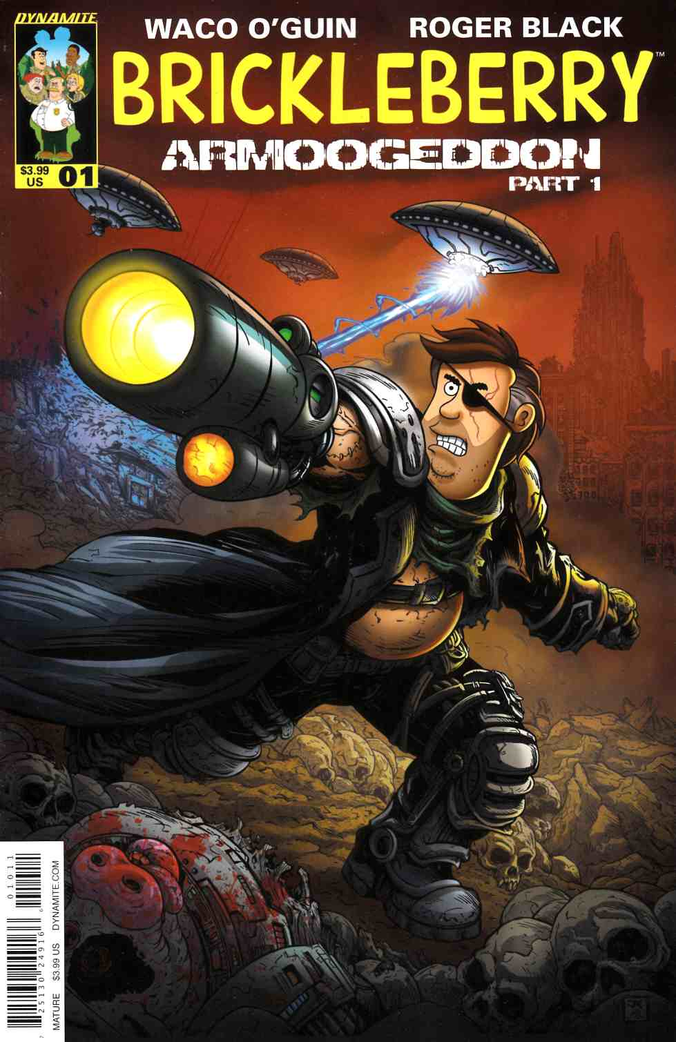 Brickleberry #1 Cover A [Dynamite Comic] THUMBNAIL