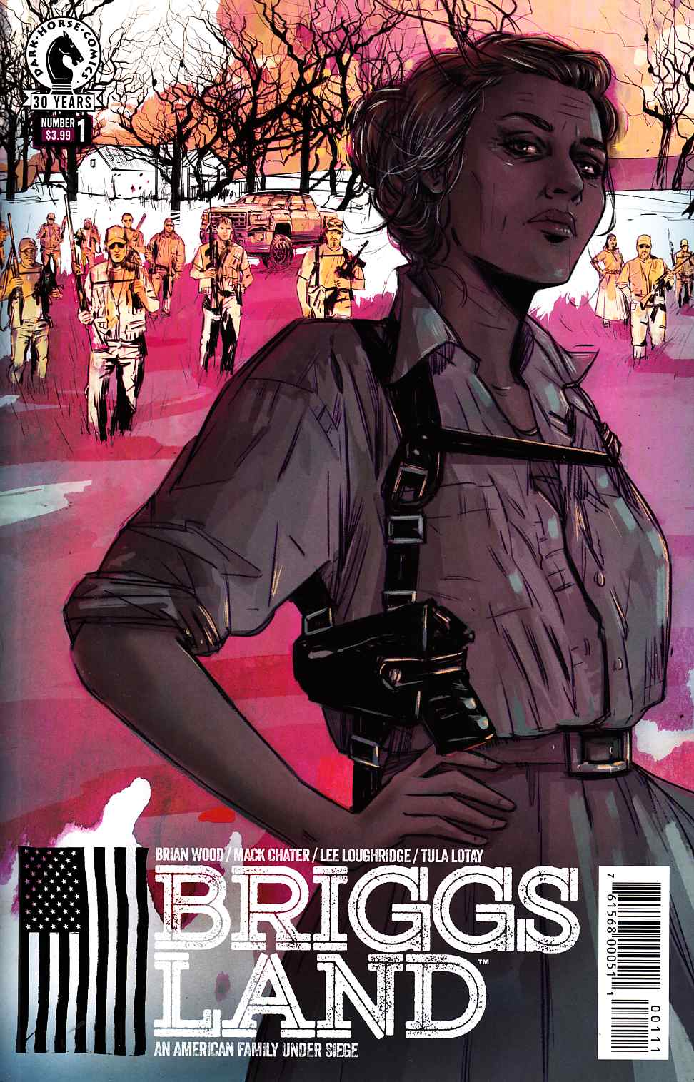 Briggs Land #1 Near Mint (9.4) [Dark Horse Comic] THUMBNAIL