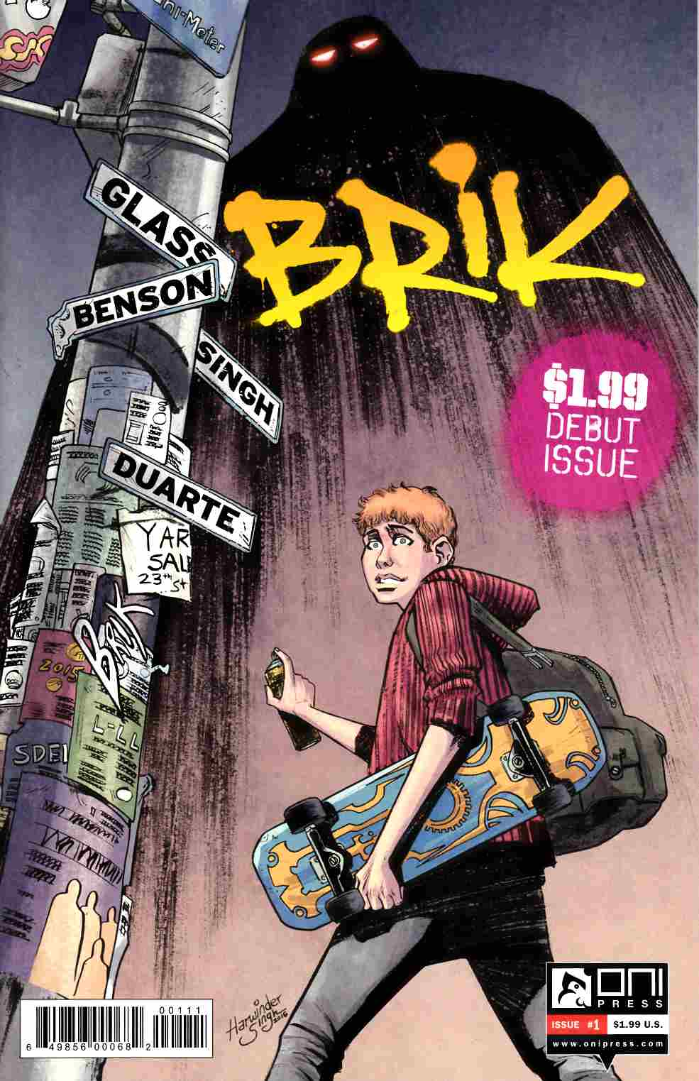 Brik #1 [Oni Press Comic] THUMBNAIL