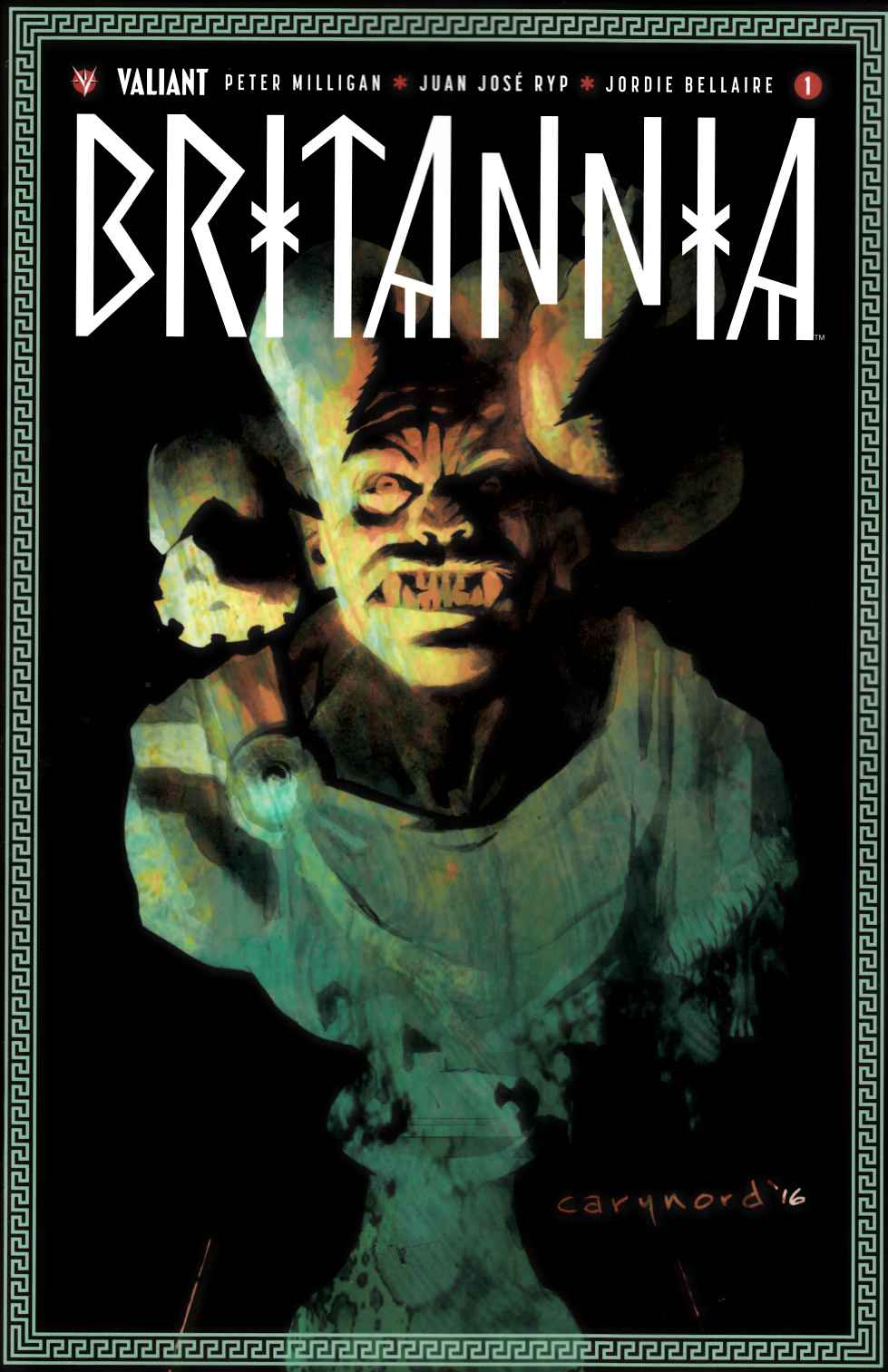 Britannia #1 Cover A [Valiant Comic]