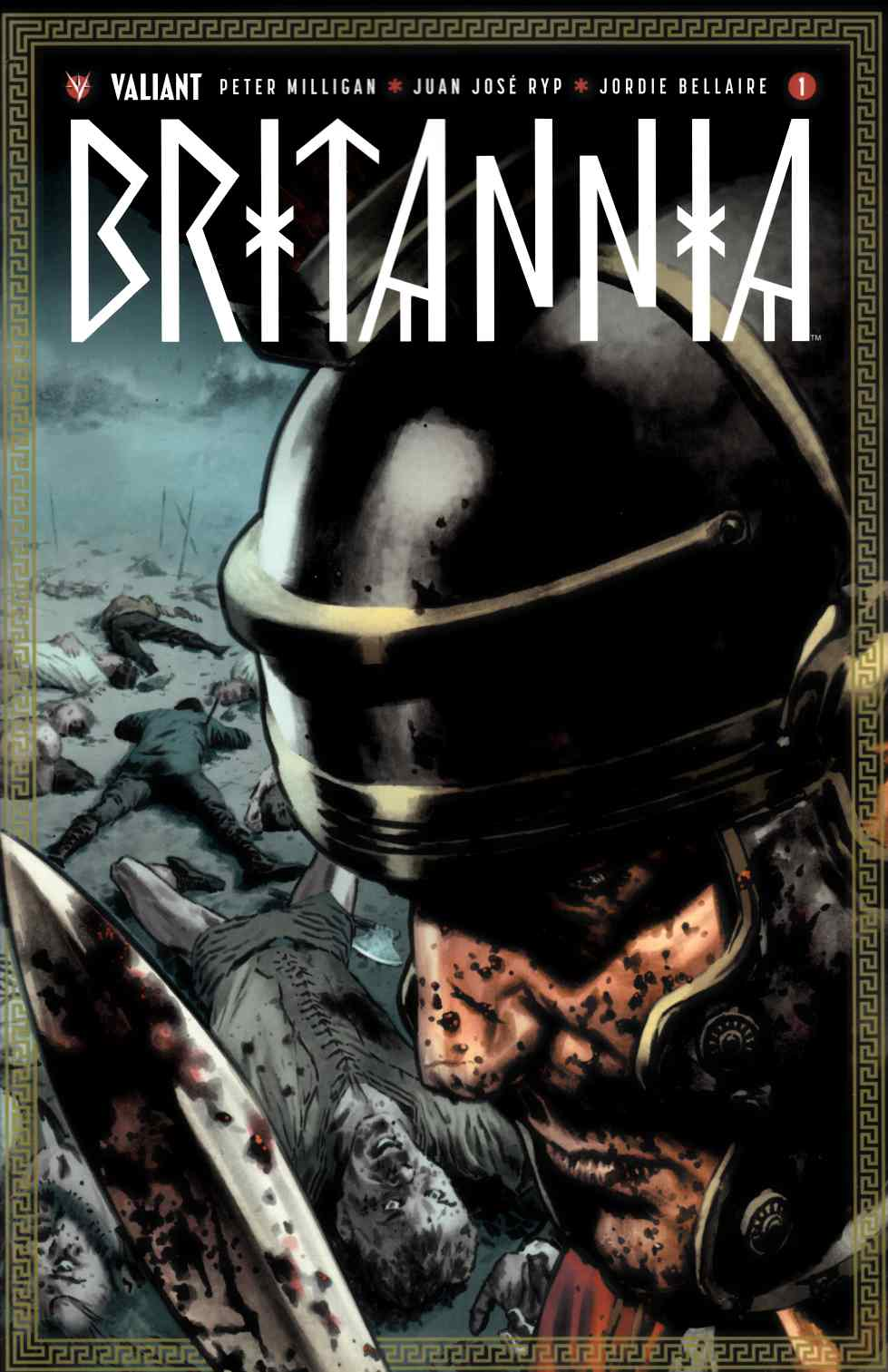 Britannia #1 Cover B [Valiant Comic]