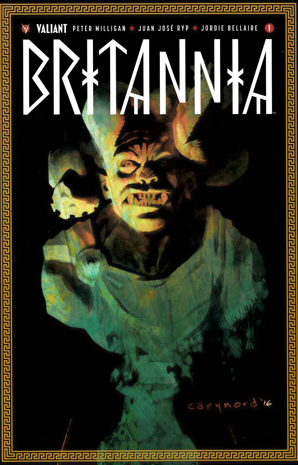 Britannia #1 Second Printing [Valiant Comic]