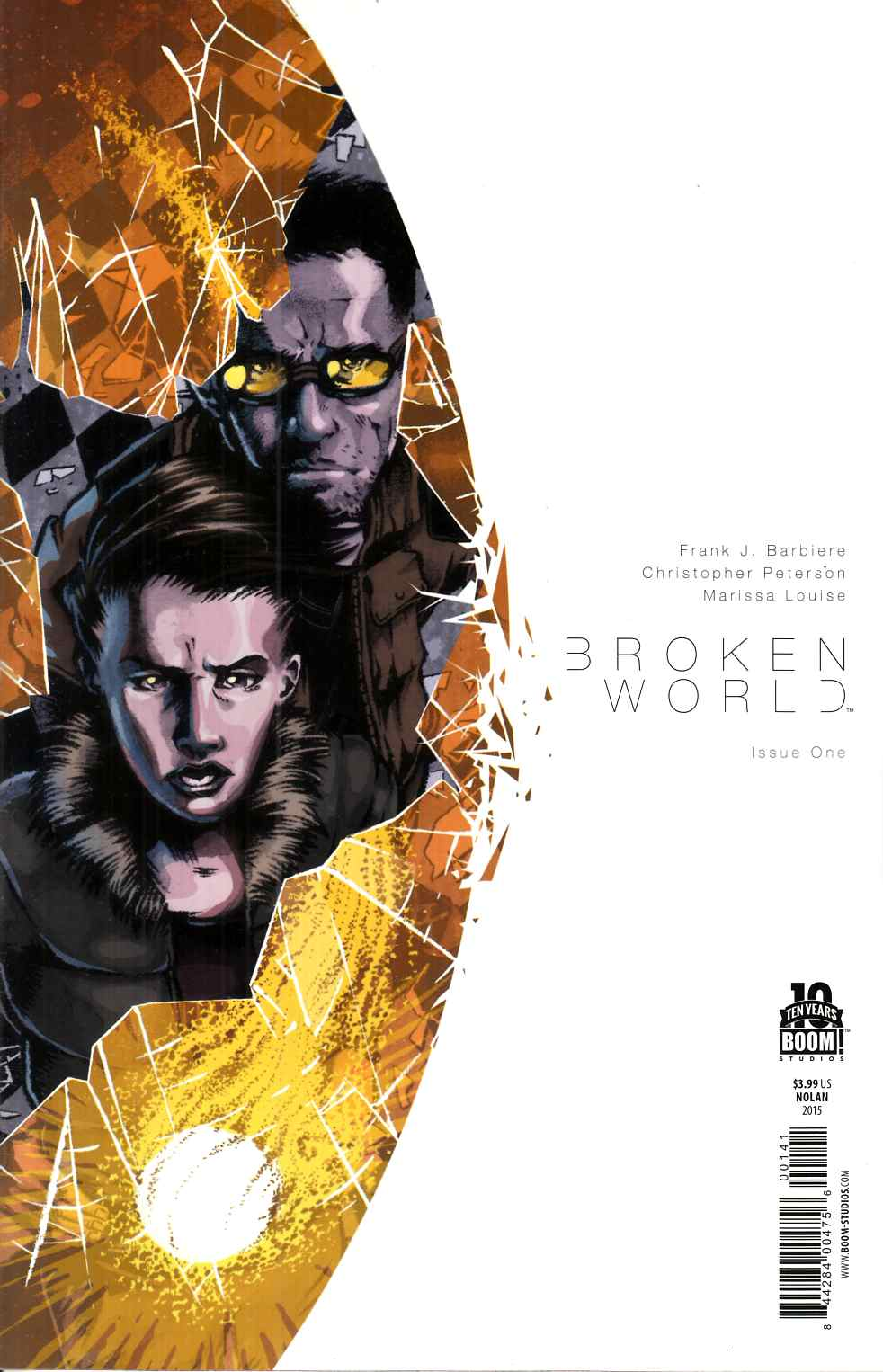 Broken World #1 Nolan Variant Cover [Boom Comic] THUMBNAIL