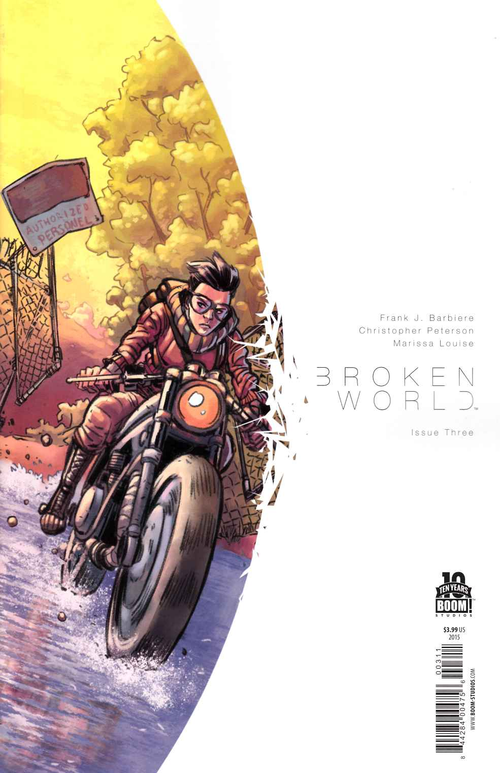 Broken World #3 [Boom Comic] THUMBNAIL