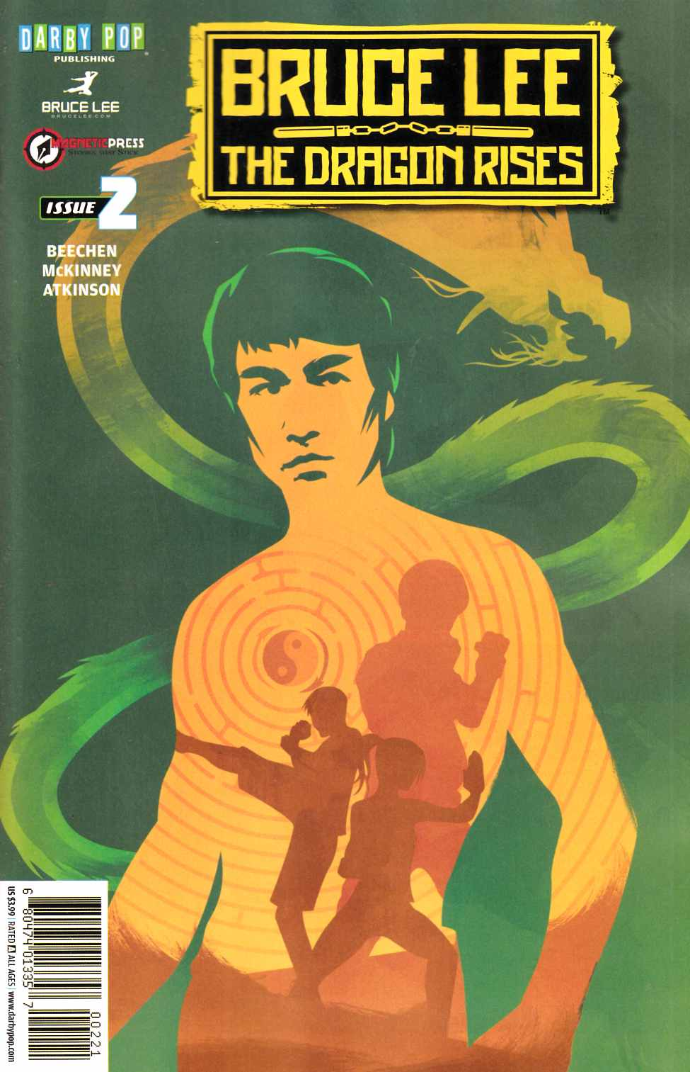 Bruce Lee Dragon Rises #2 Cover B [Darby Pop Comic]