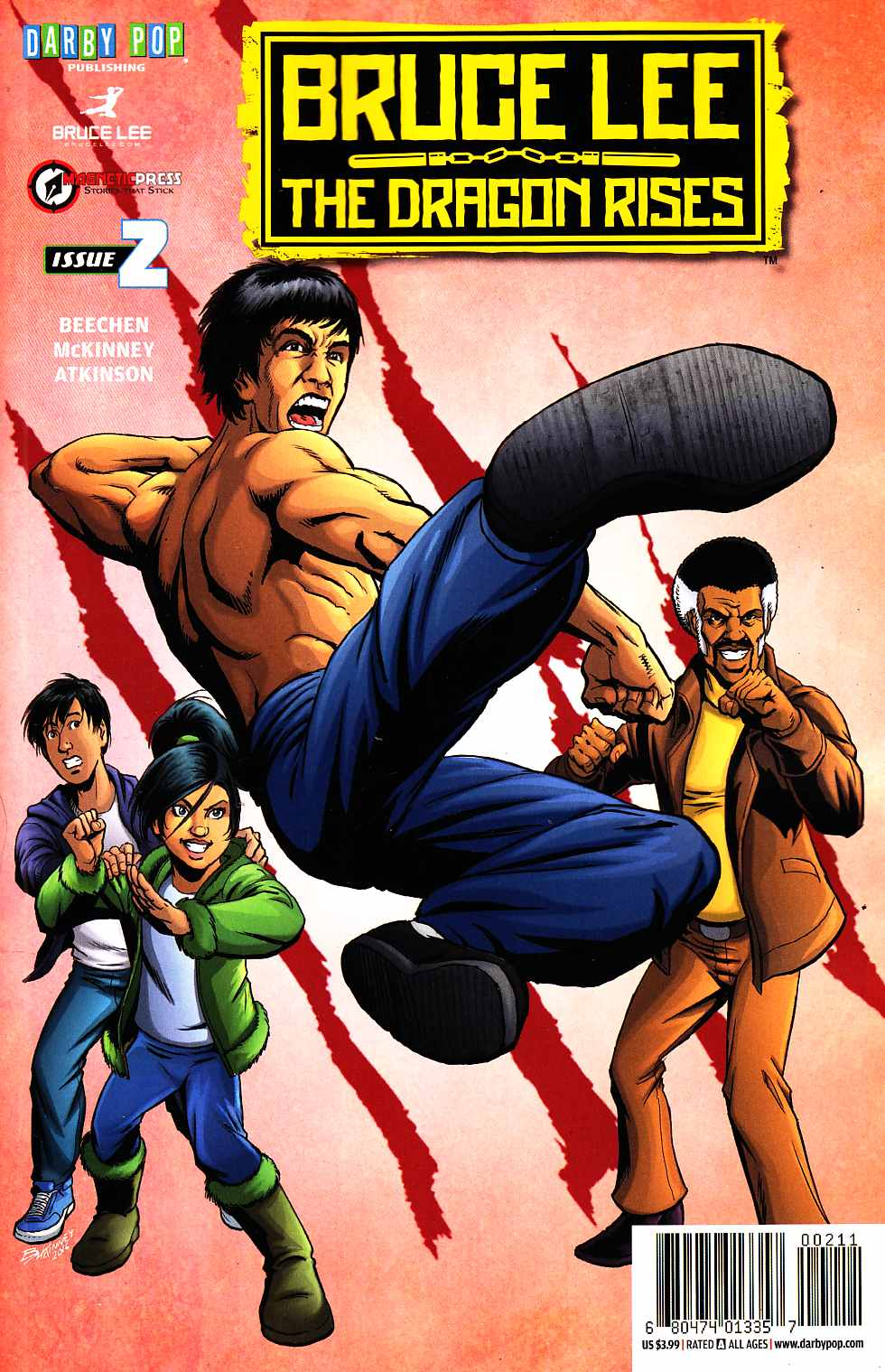 Bruce Lee Dragon Rises #2 Cover A [Darby Pop Comic] THUMBNAIL