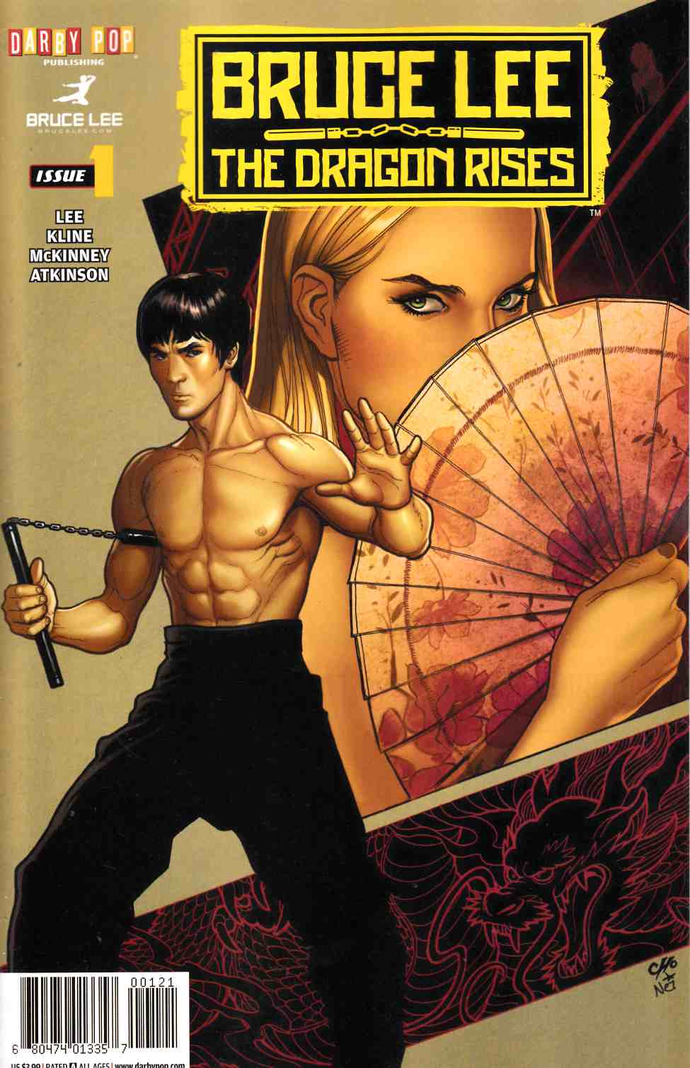 Bruce Lee Dragon Rises #1 Cover B [IDW Comic]