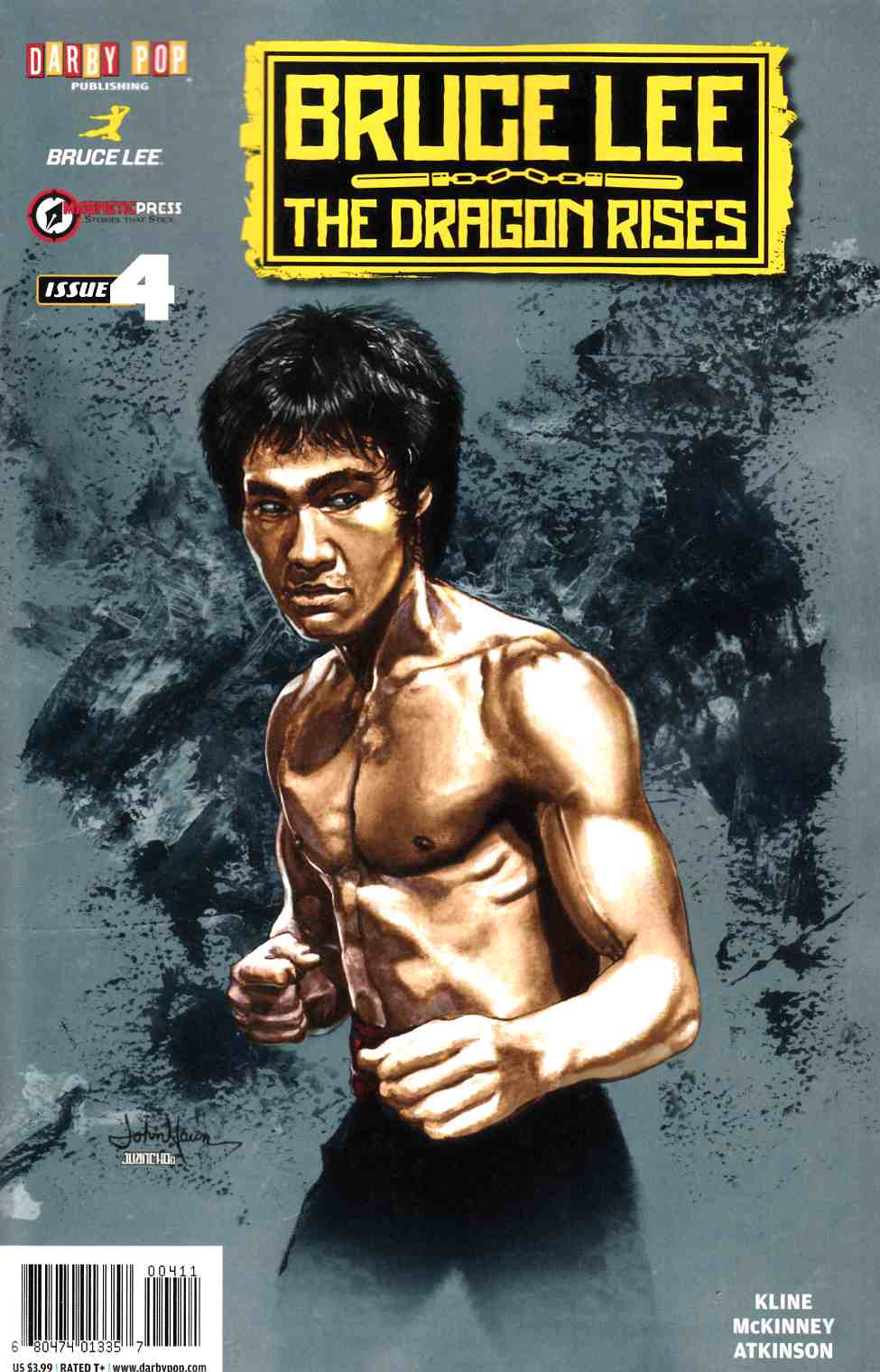 Bruce Lee Dragon Rises #4 [Darby Pop Comic]