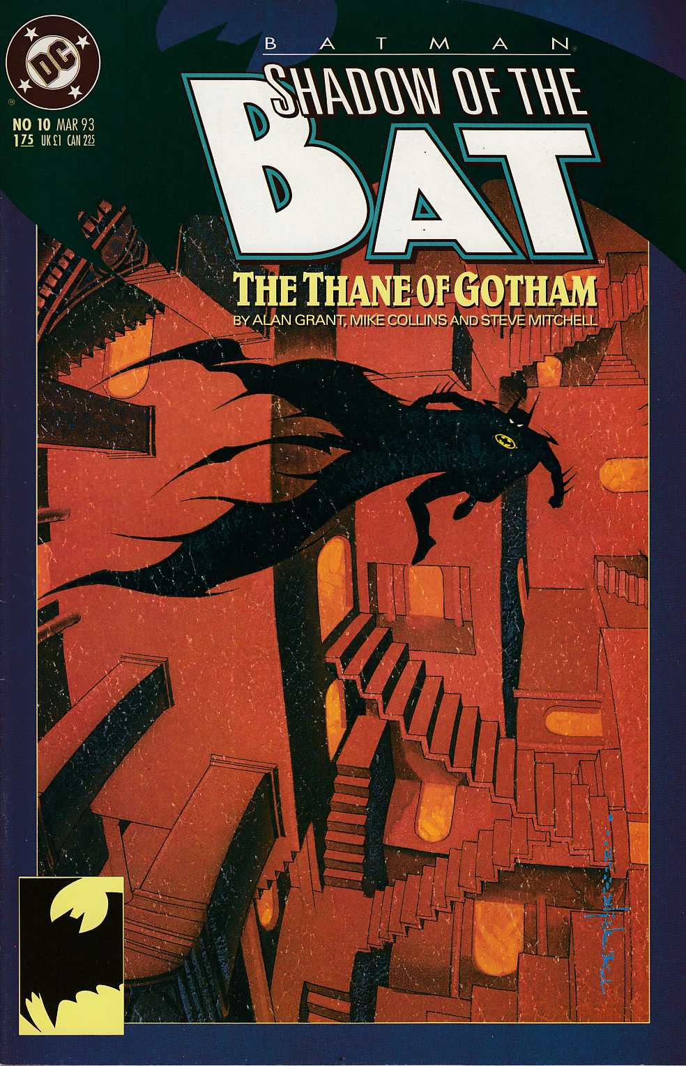 Batman Shadow of the Bat #10 Very Fine (8.0) [DC Comic]_THUMBNAIL