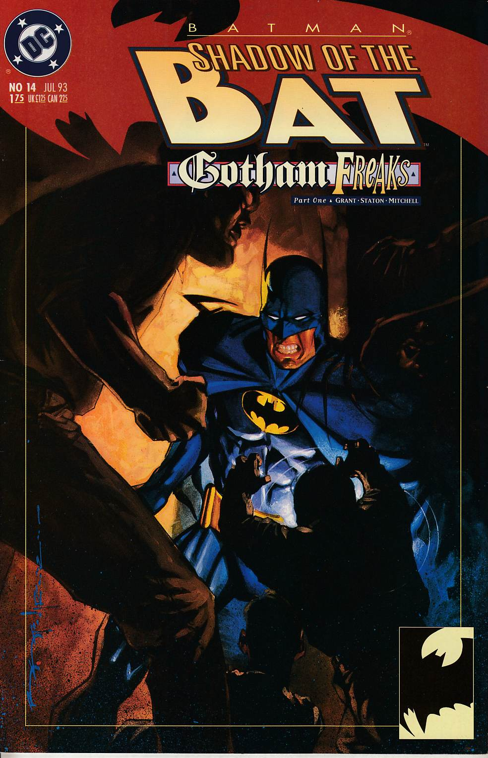 Batman Shadow of the Bat #14 Very Fine (8.0) [DC Comic] THUMBNAIL