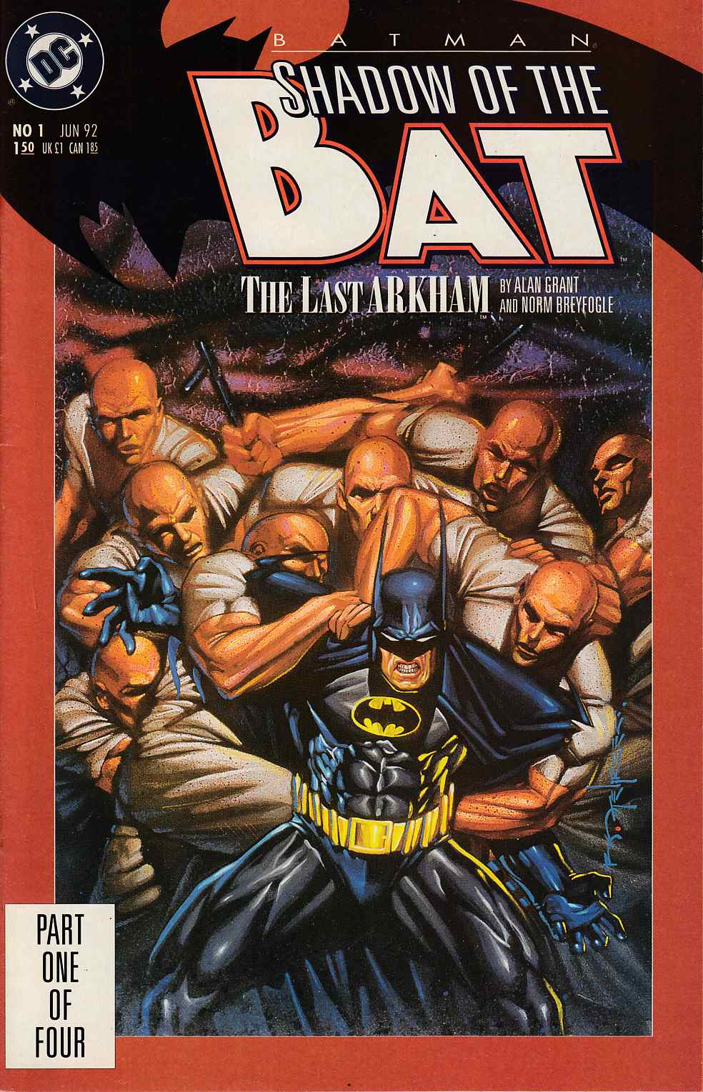 Batman Shadow of the Bat #1 Very Fine (8.0) [DC Comic]_THUMBNAIL