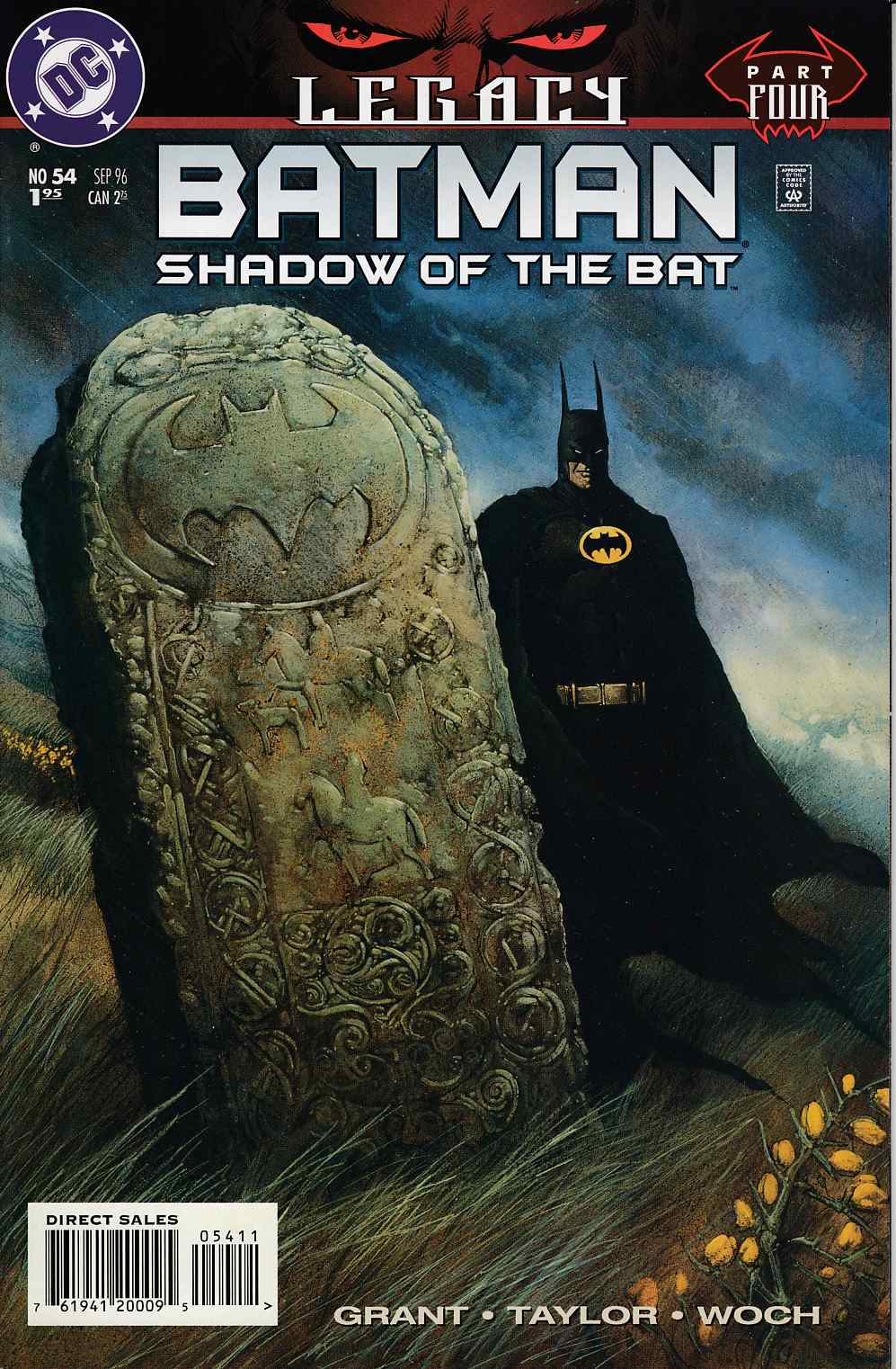 Batman Shadow of the Bat #54 Very Fine (8.0) [DC Comic] LARGE