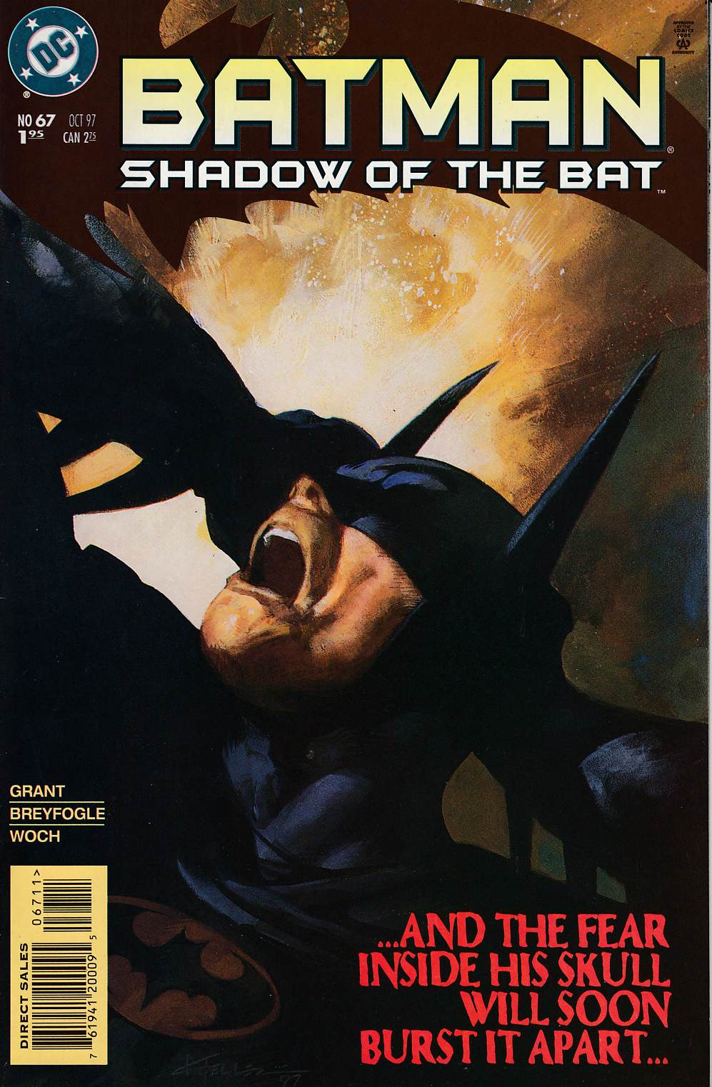 Batman Shadow of the Bat #67 Near Mint (9.4) [DC Comic] LARGE