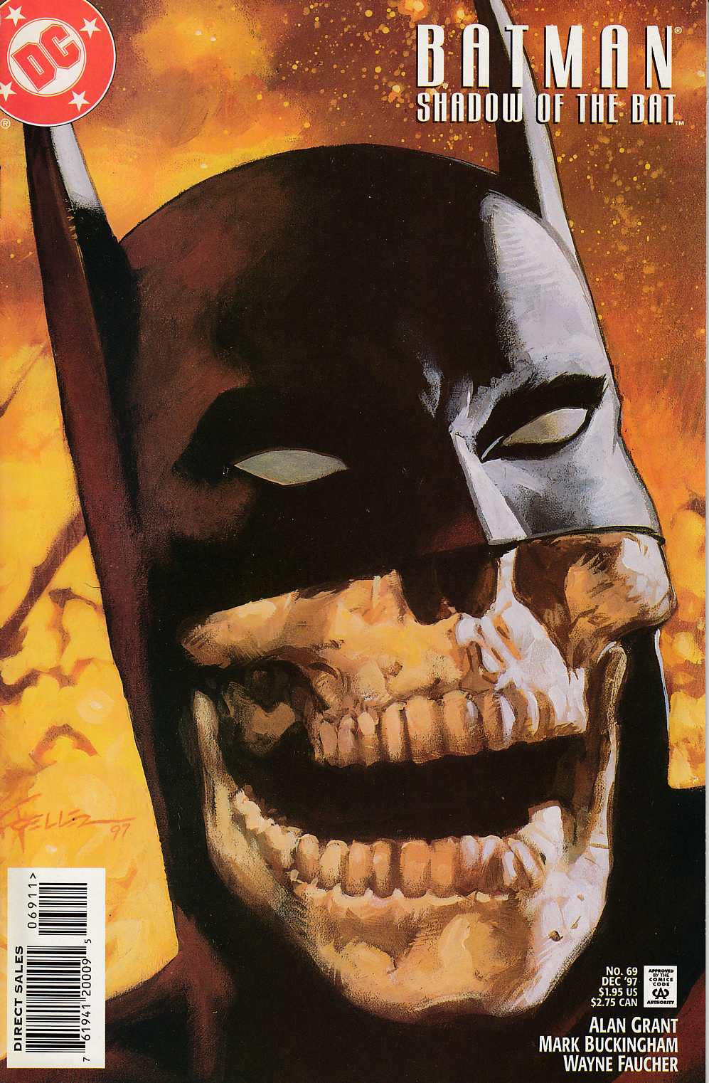 Batman Shadow of the Bat #69 Near Mint (9.4) [DC Comic] LARGE