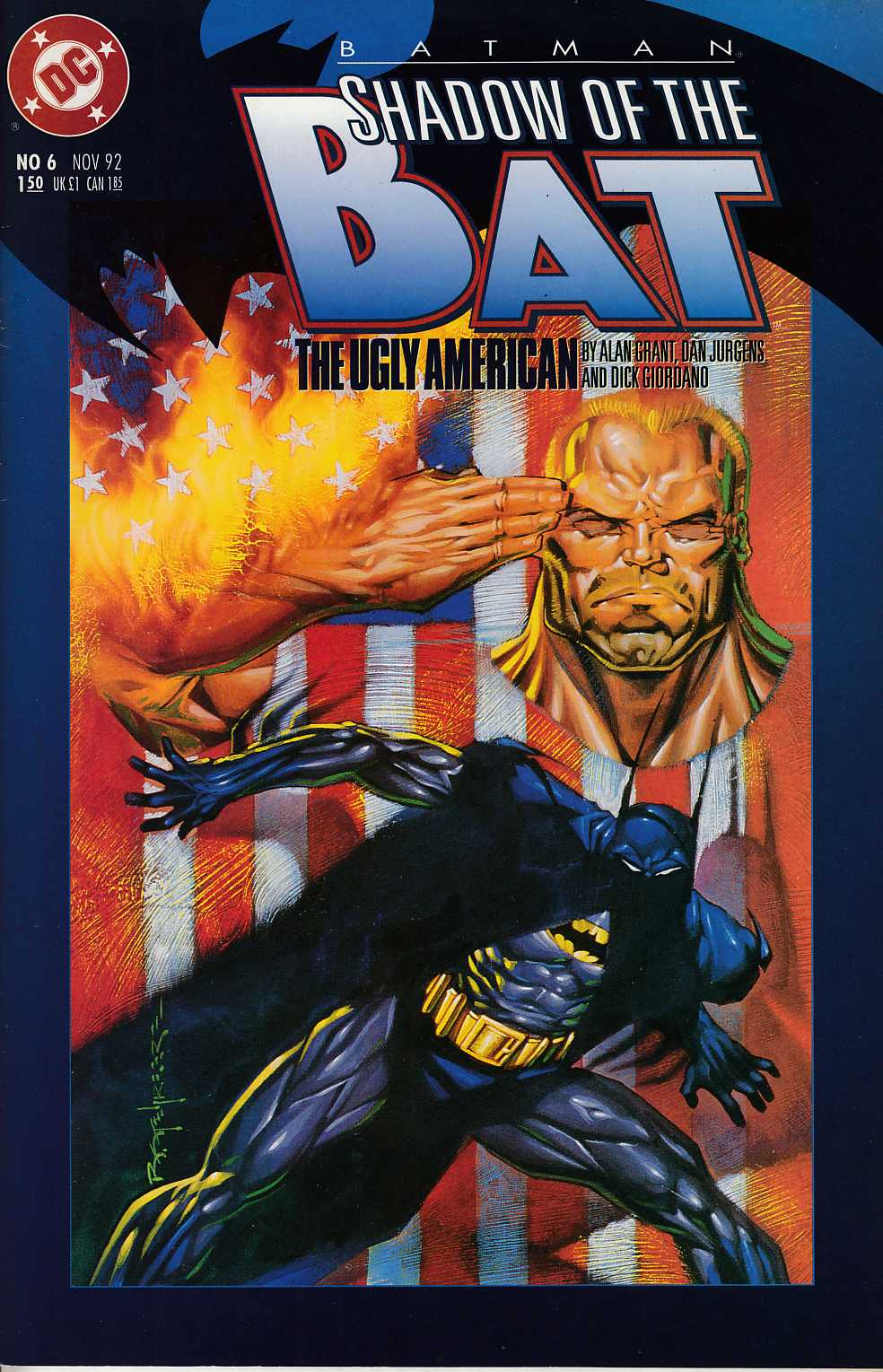 Batman Shadow of the Bat #6 Very Fine (8.0) [DC Comic] LARGE