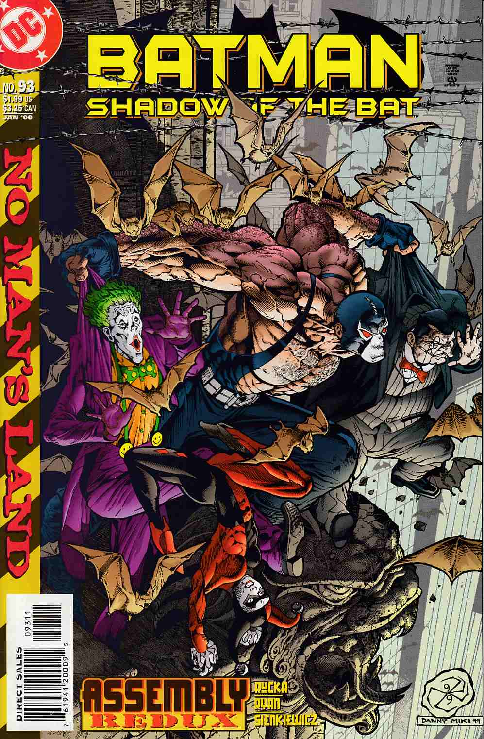 Batman Shadow of the Bat #93 Near Mint (9.4) [DC Comic]_THUMBNAIL