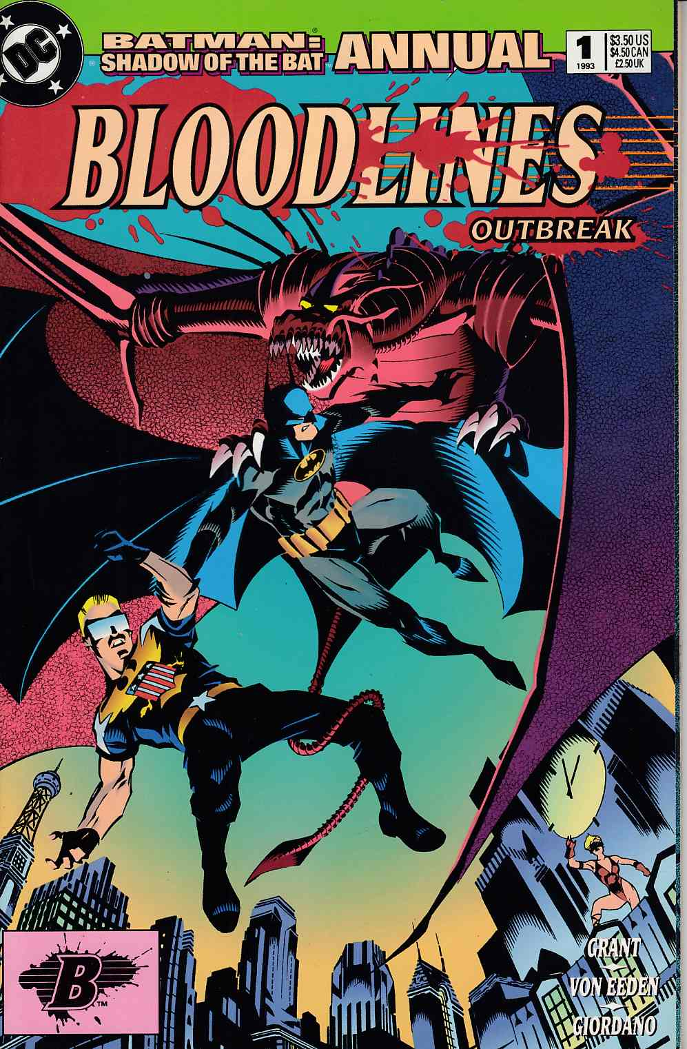 Batman Shadow of the Bat Annual #1 Very Fine (8.0) [DC Comic]_THUMBNAIL