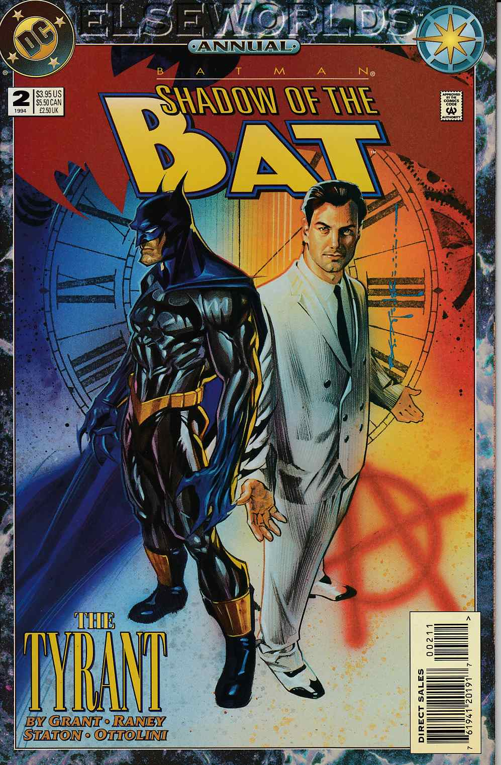 Batman Shadow of the Bat Annual #2 Very Fine (8.0) [DC Comic]_THUMBNAIL