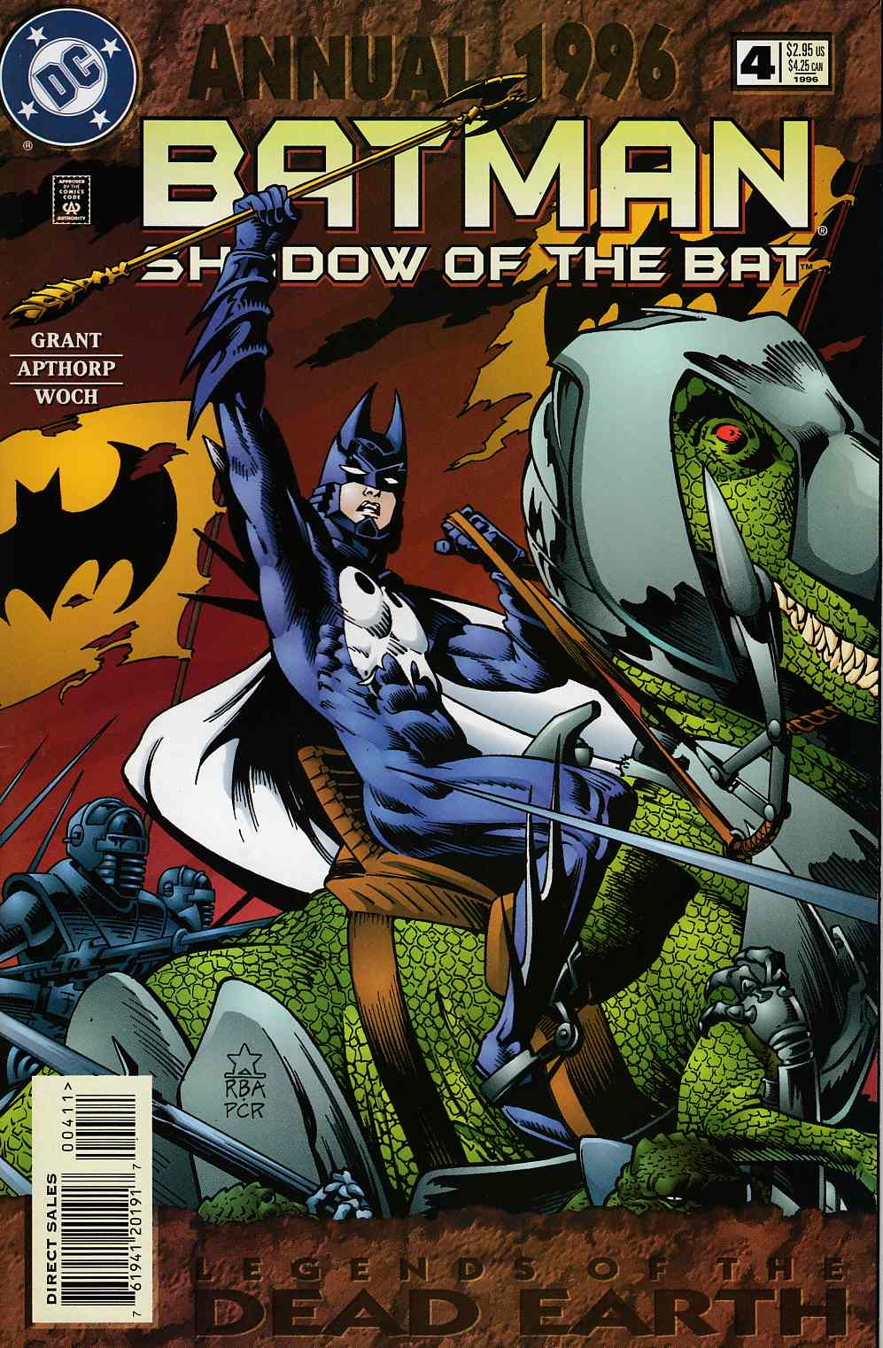 Batman Shadow of the Bat Annual #4 Very Fine (8.0) [DC Comic]_THUMBNAIL