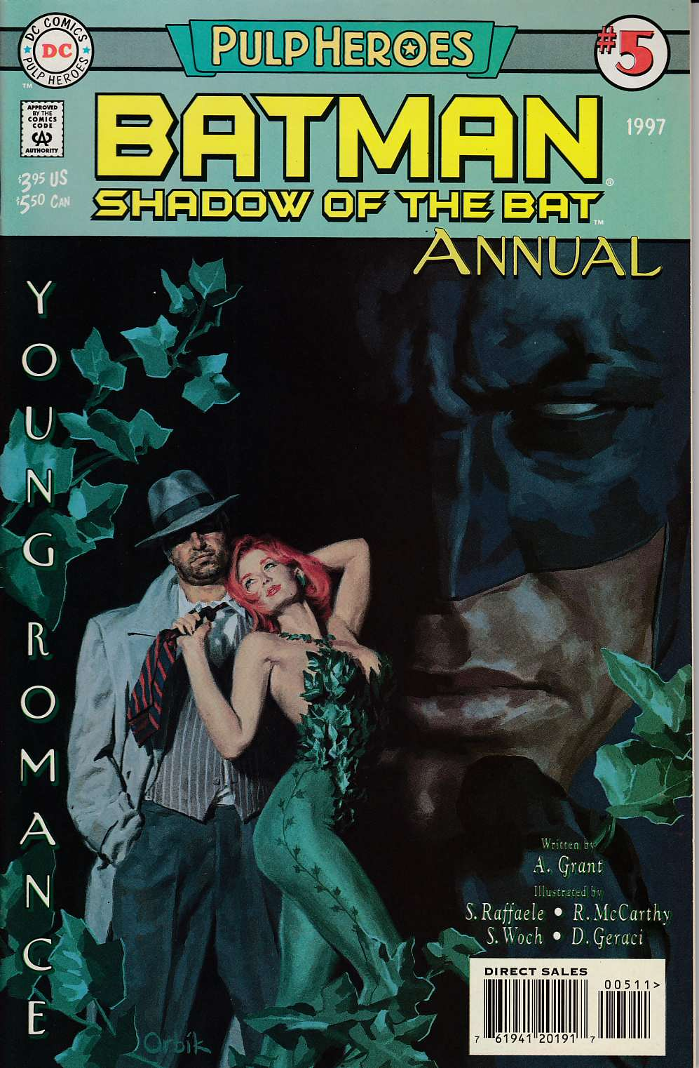 Batman Shadow of the Bat Annual #5 Near Mint (9.4) [DC Comic]_THUMBNAIL