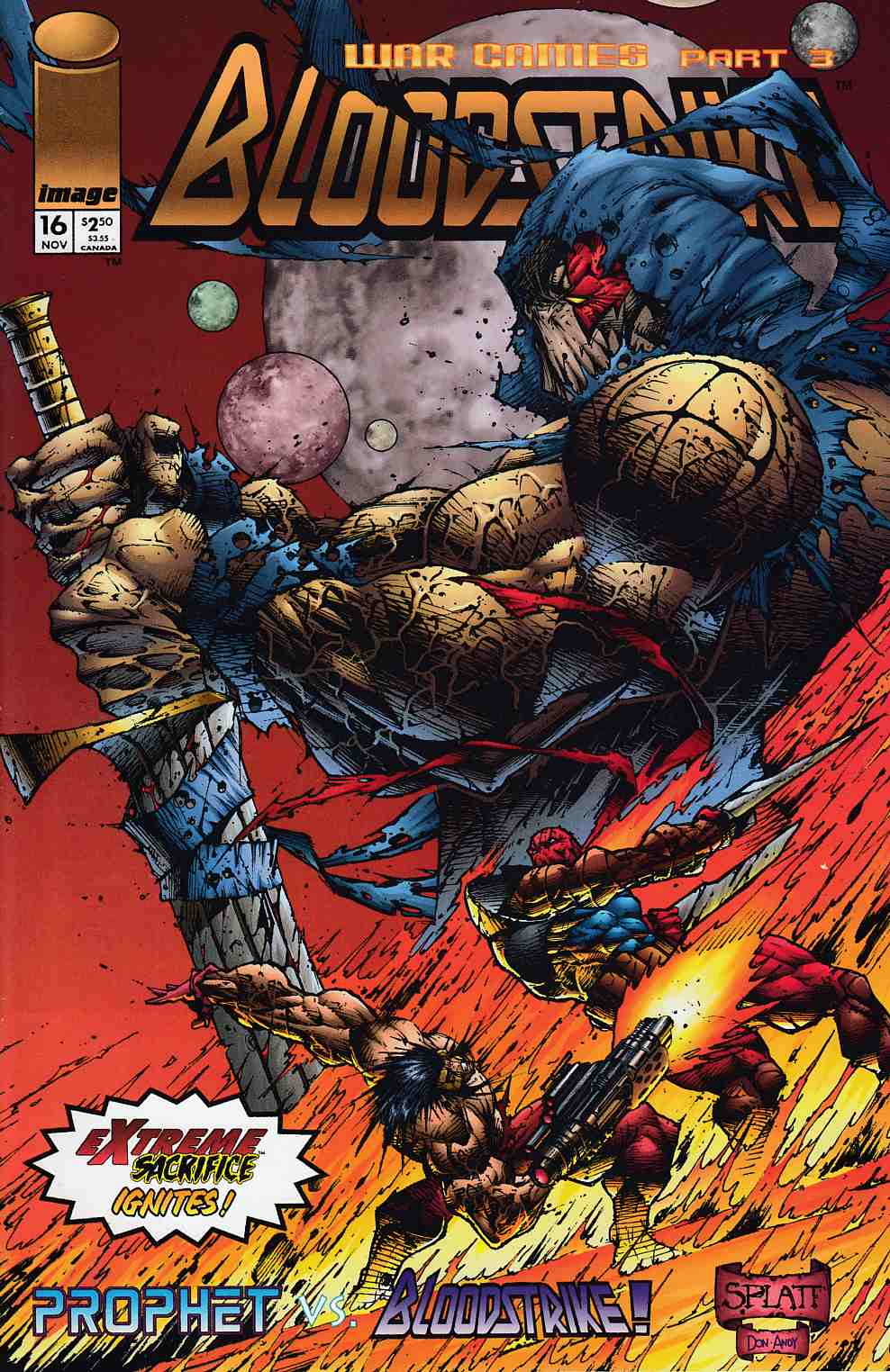 Bloodstrike #16 Near Mint (9.4) [Image Comic] THUMBNAIL