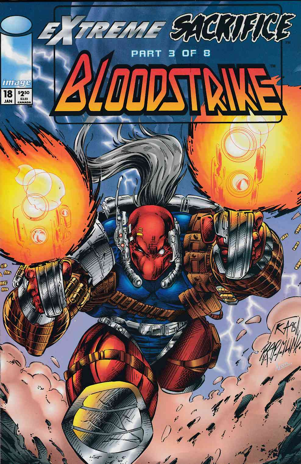 Bloodstrike #18 Polybagged Near Mint (9.4) [Image Comic] THUMBNAIL