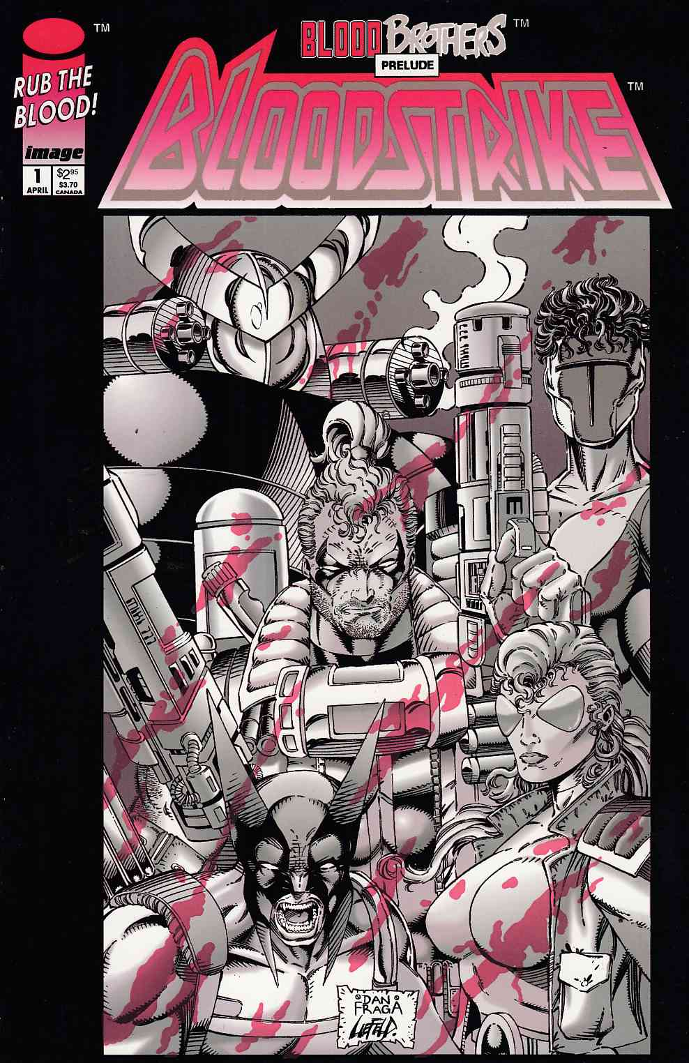 Bloodstrike #1 Near Mint Minus (9.2) [Image Comic] THUMBNAIL