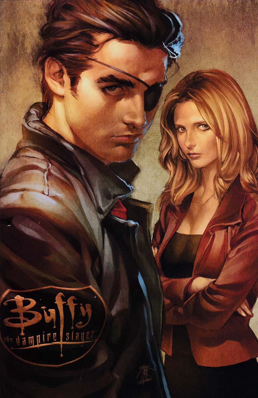 Buffy the Vampire Slayer Season 8 #2 Fourth  Printing  Very Fine (8.0) [Dark Horse Comic] THUMBNAIL