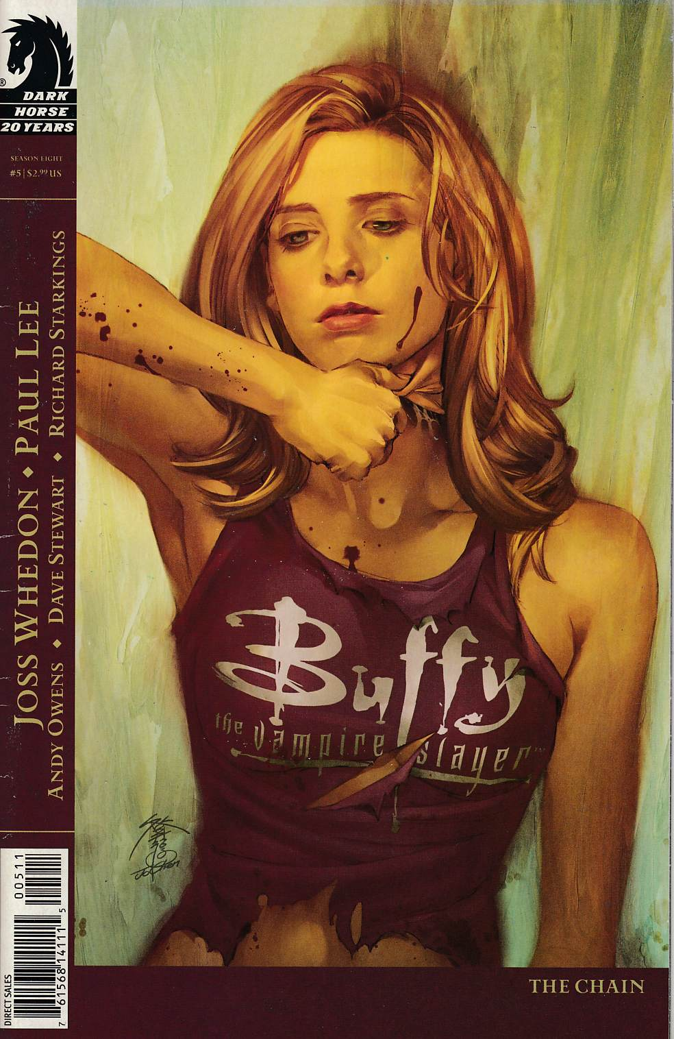 Buffy the Vampire Slayer Season 8 #5 Cover A Fine (6.0) [Dark Horse Comic] THUMBNAIL