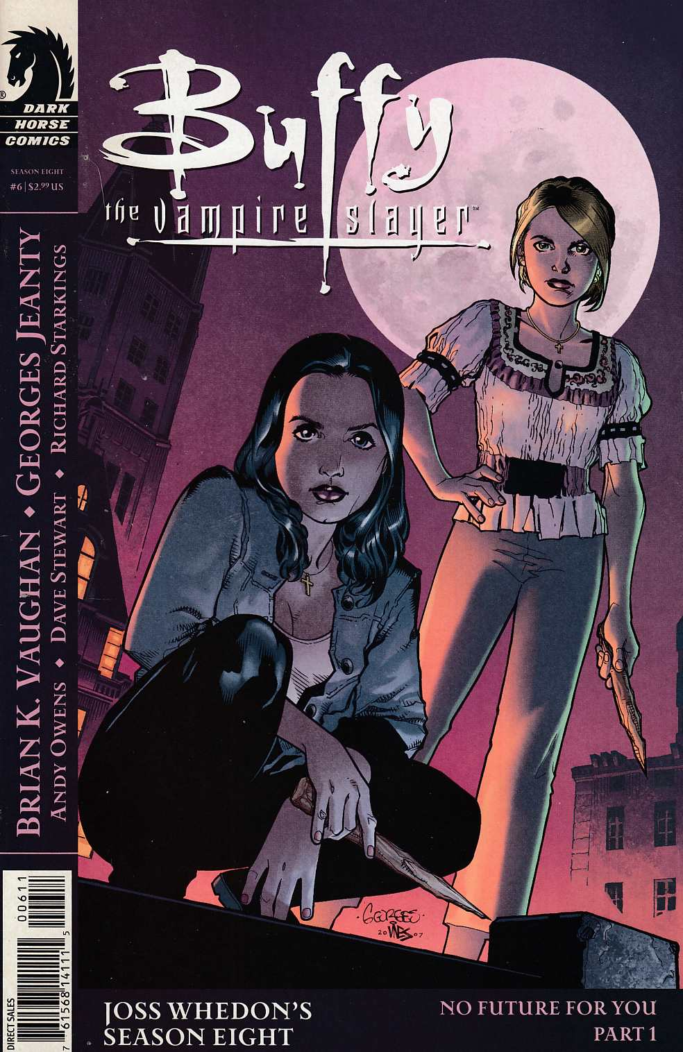 Buffy the Vampire Slayer Season 8 #6 Cover B Very Fine (8.0) [Dark Horse Comic] THUMBNAIL