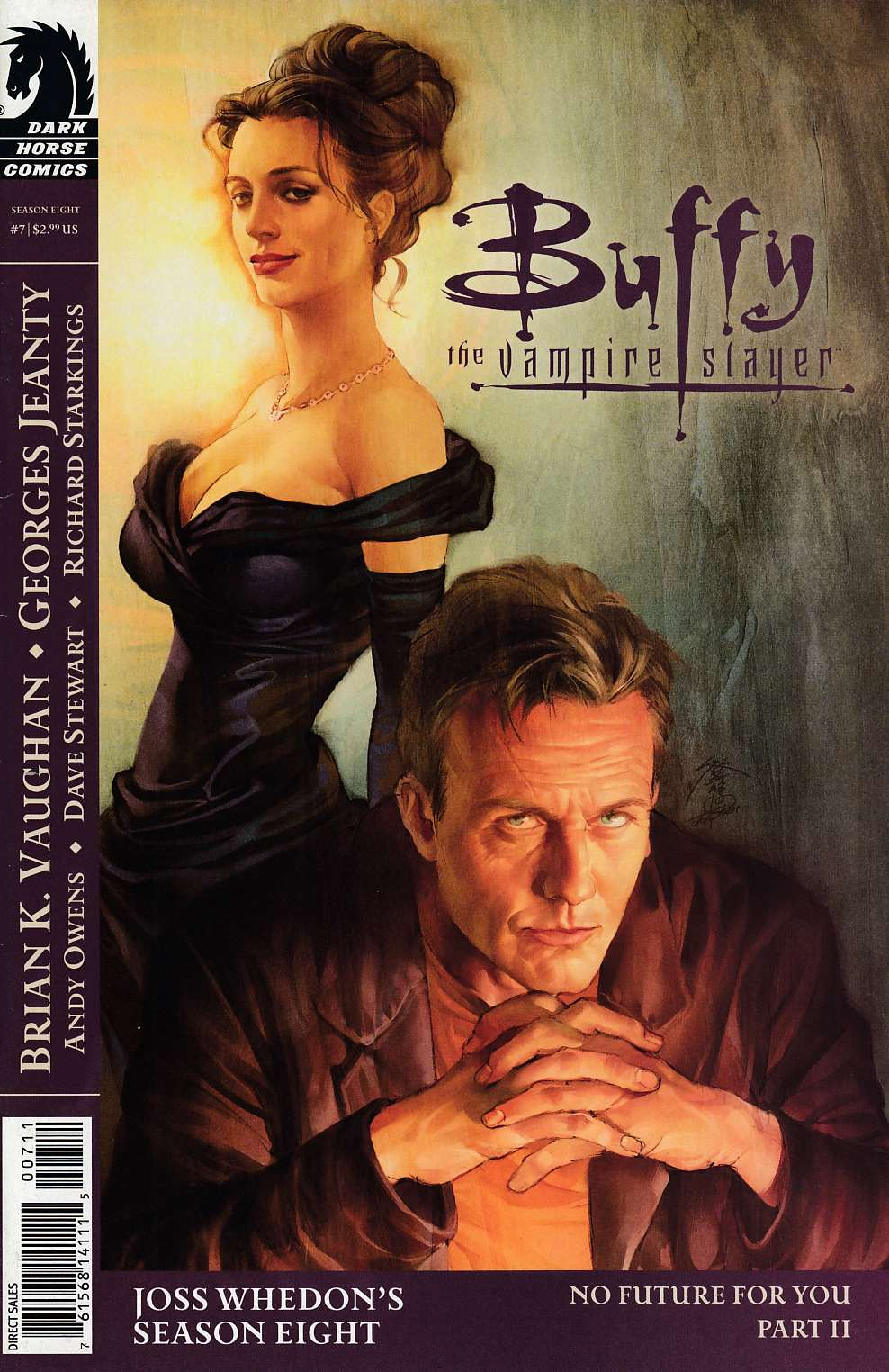 Buffy the Vampire Slayer Season 8 #7 Cover A Very Fine (8.0) [Dark Horse Comic] THUMBNAIL