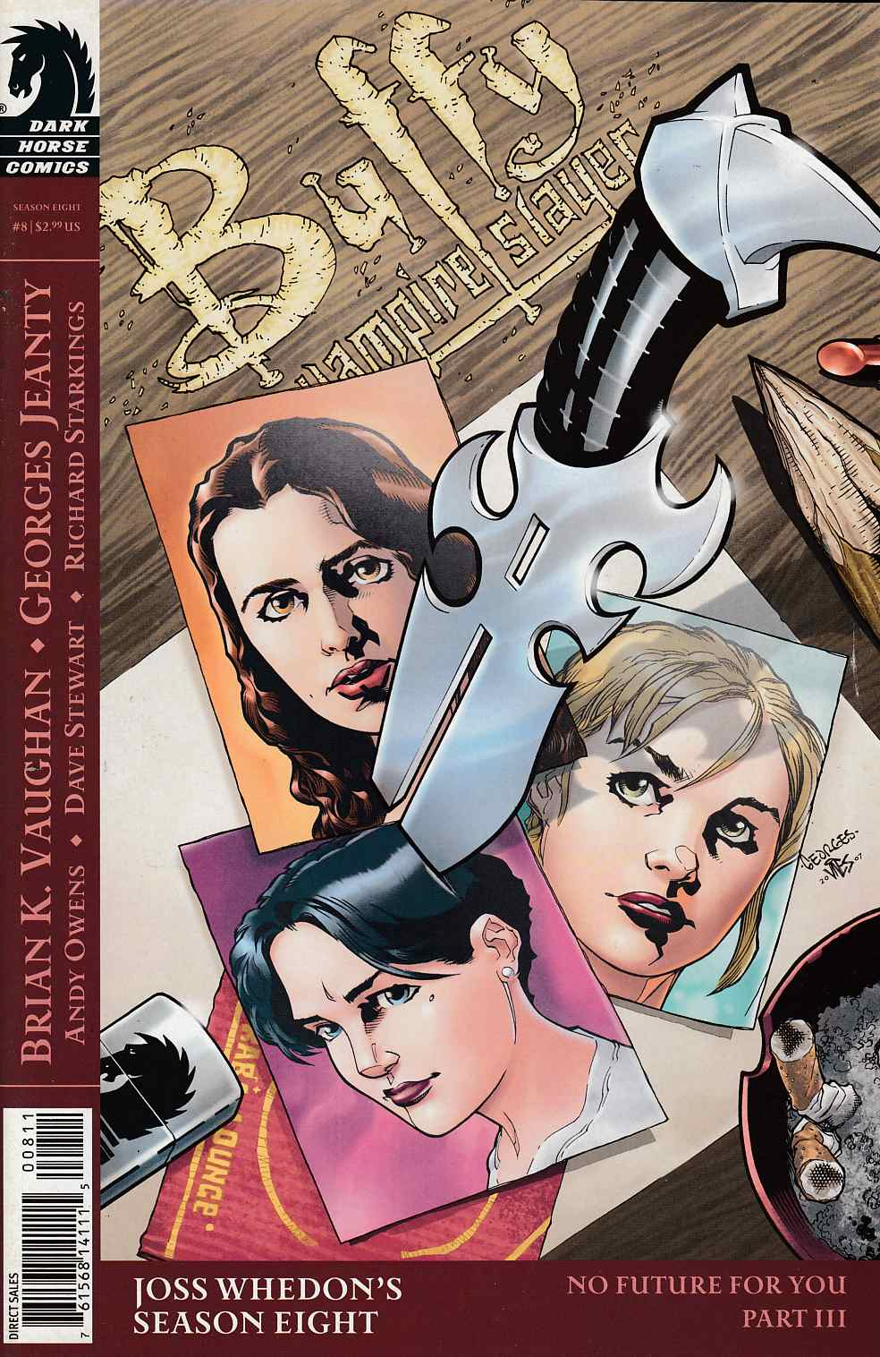 Buffy the Vampire Slayer Season 8 #8 Cover B Near Mint (9.4) [Dark Horse Comic] THUMBNAIL