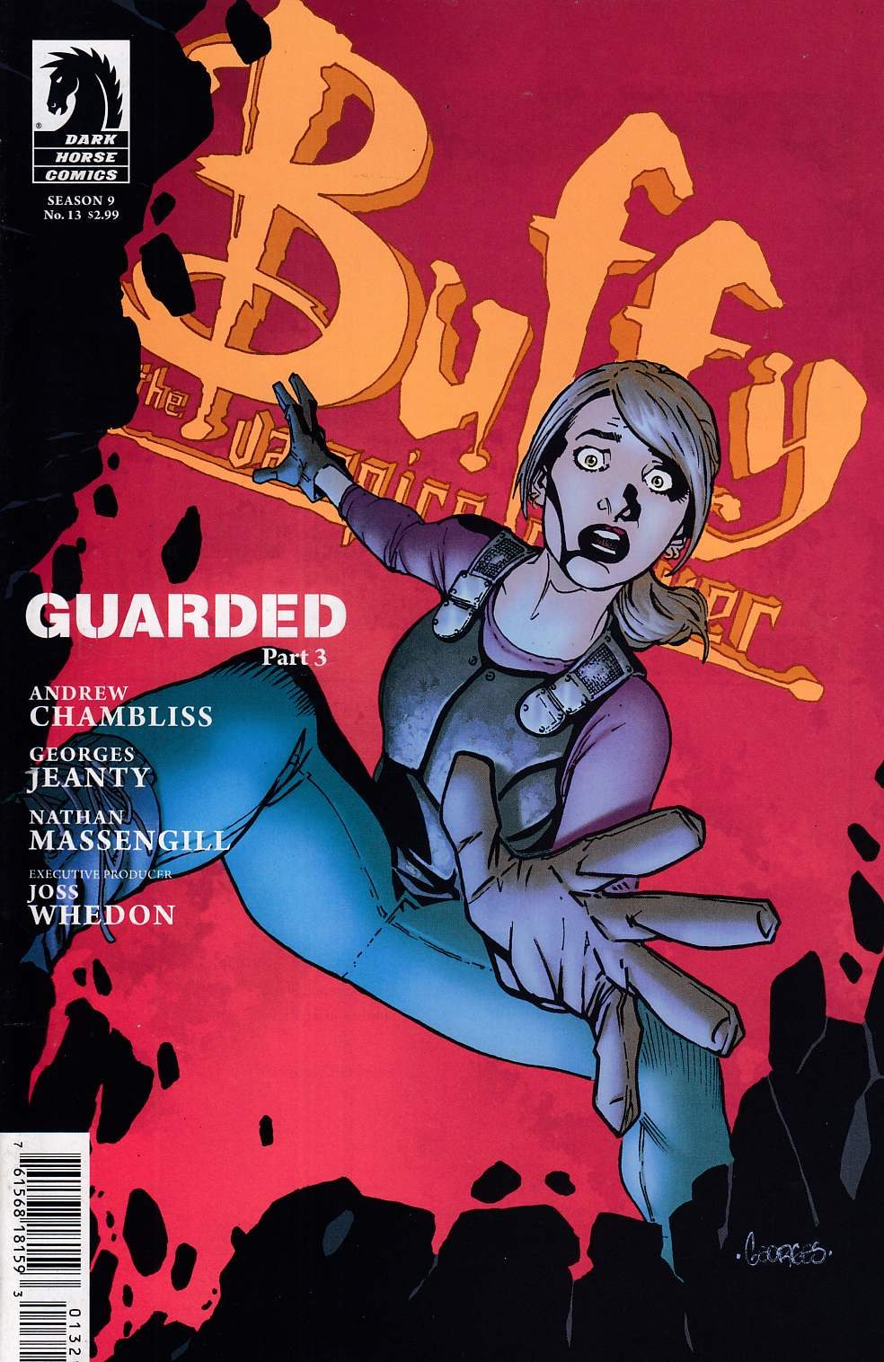 Buffy the Vampire Slayer Season 9 #13 Cover B Near Mint (9.4) [Dark Horse Comic] LARGE