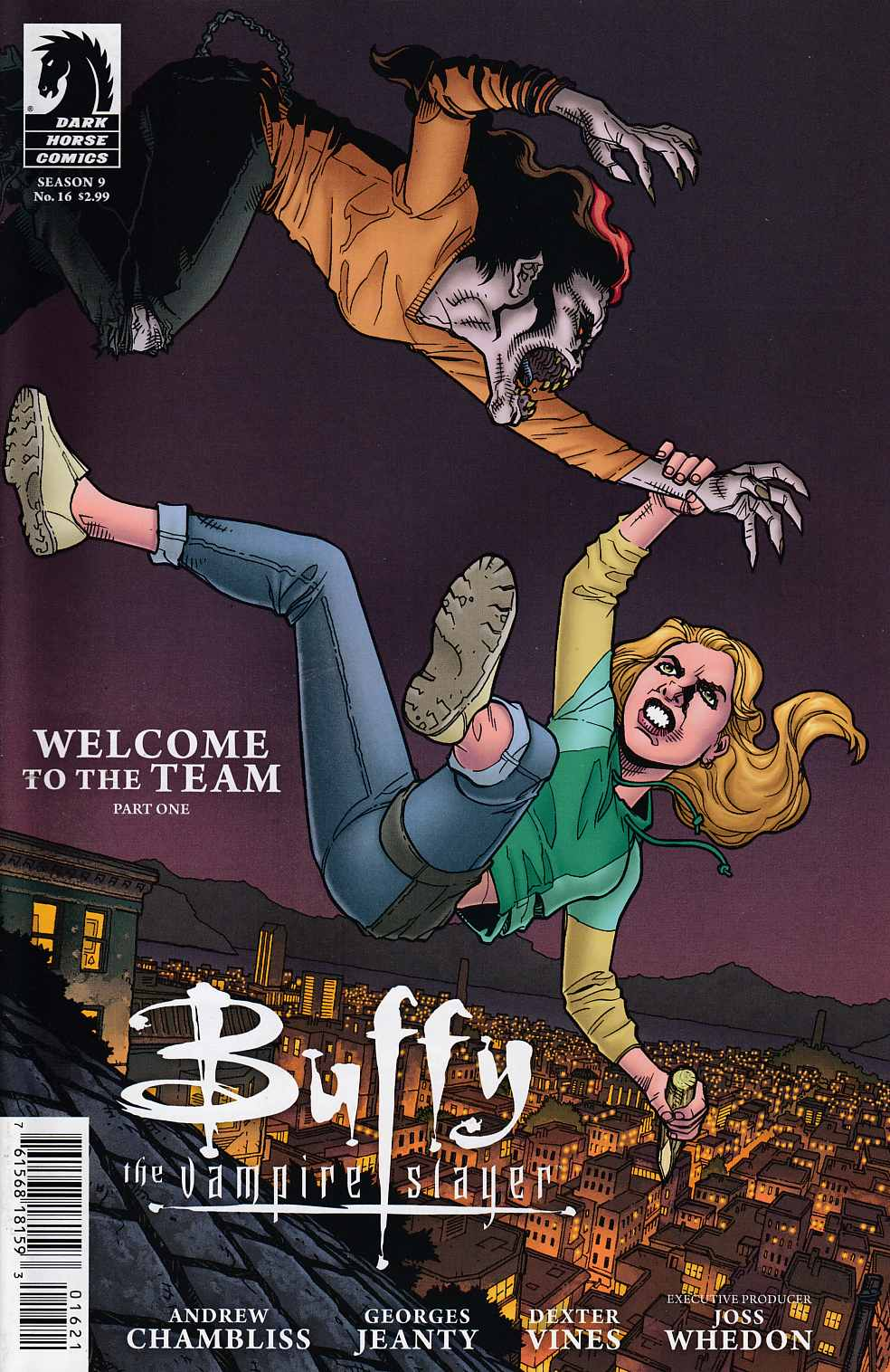 Buffy the Vampire Slayer Season 9 #16 Cover B Near Mint (9.4) [Dark Horse Comic] LARGE