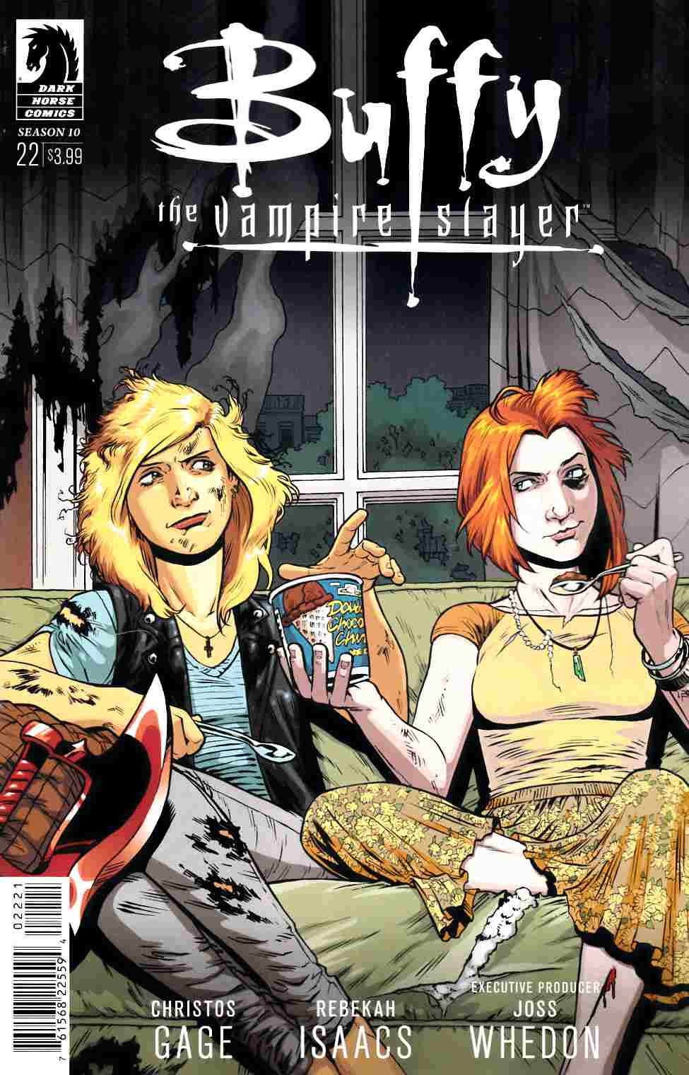 Buffy the Vampire Slayer Season 10 #22 Isaacs Variant Cover [Dark Horse Comic] THUMBNAIL