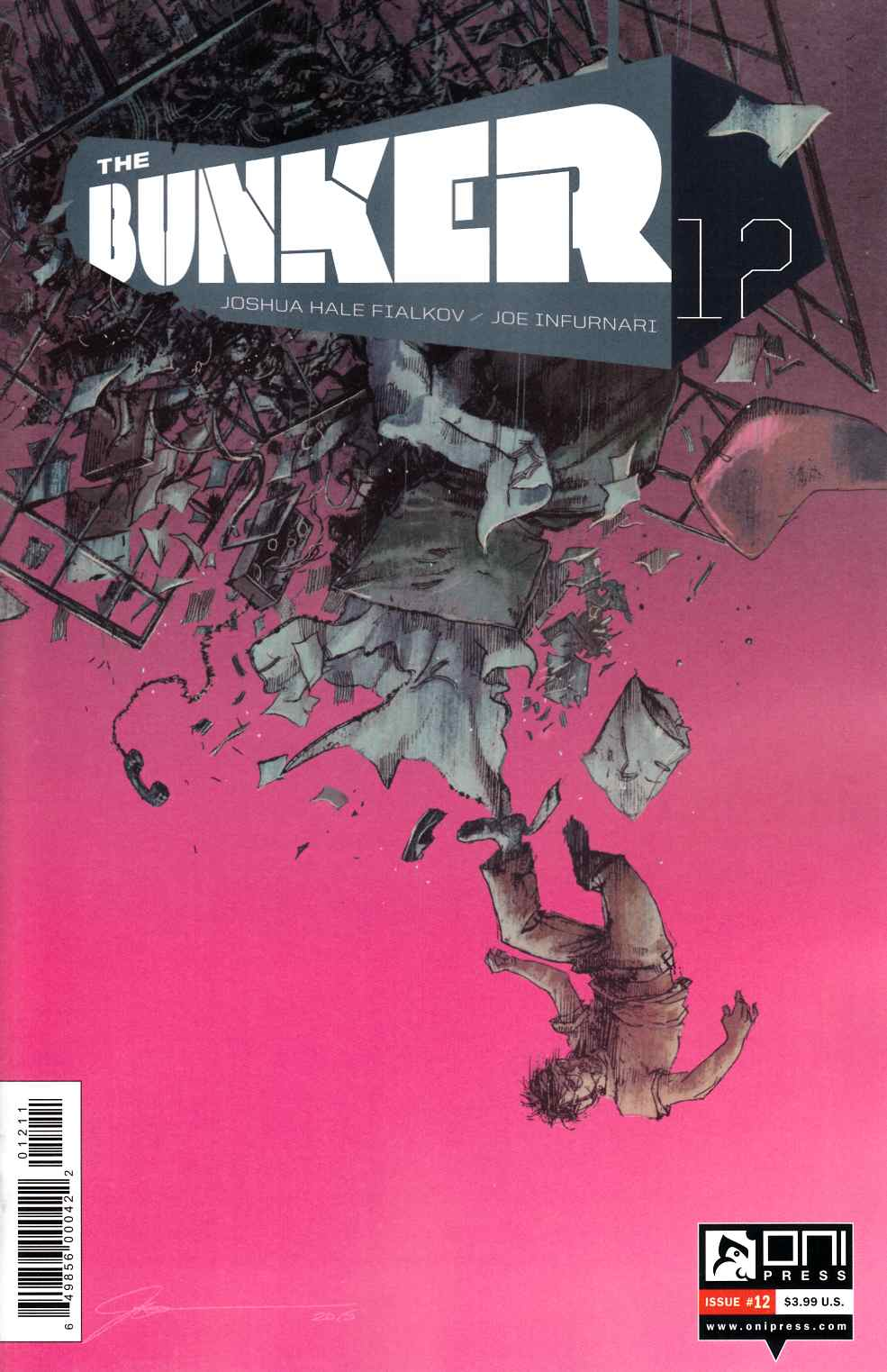 Bunker #12 [Oni Press Comic] THUMBNAIL
