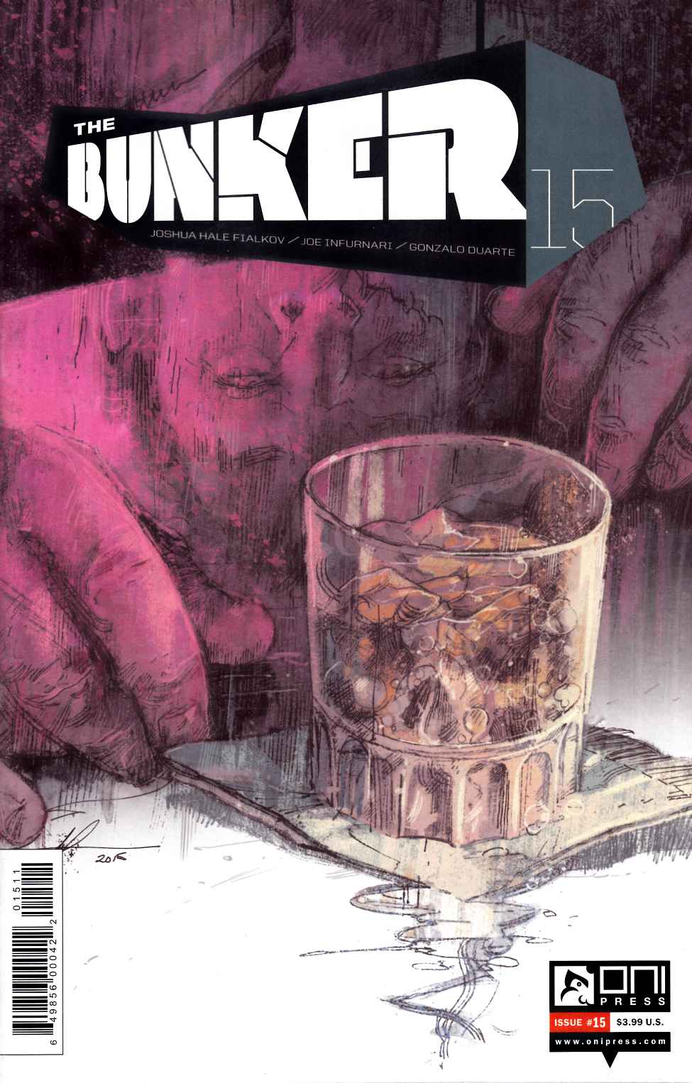 Bunker #15 [Oni Press Comic] THUMBNAIL