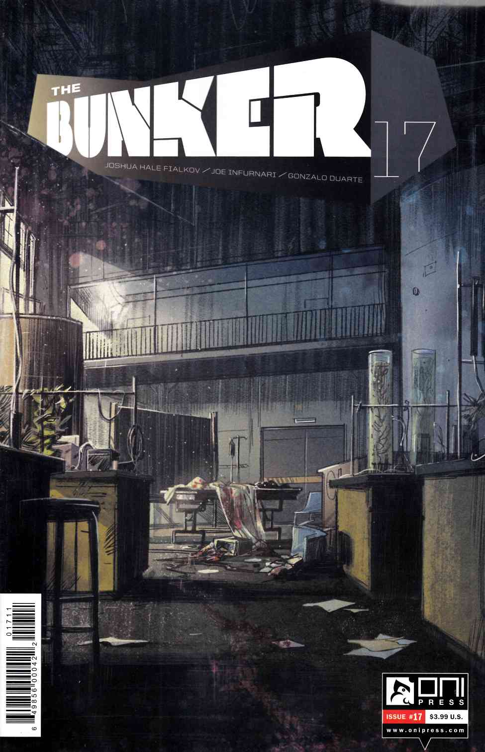 Bunker #17 [Oni Press Comic] THUMBNAIL