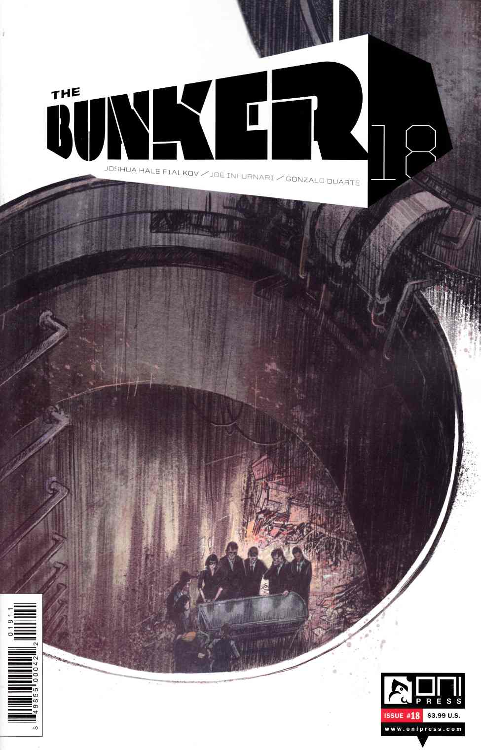 Bunker #18 [Oni Press Comic] LARGE