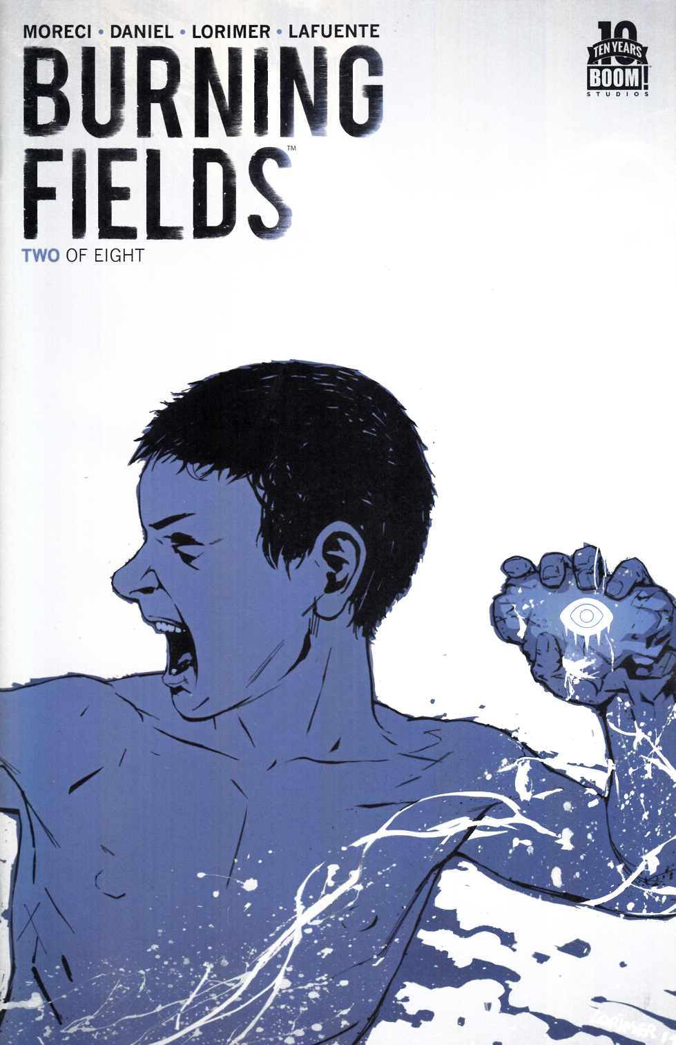 Burning Fields #2 Second Printing [Boom Comic] THUMBNAIL