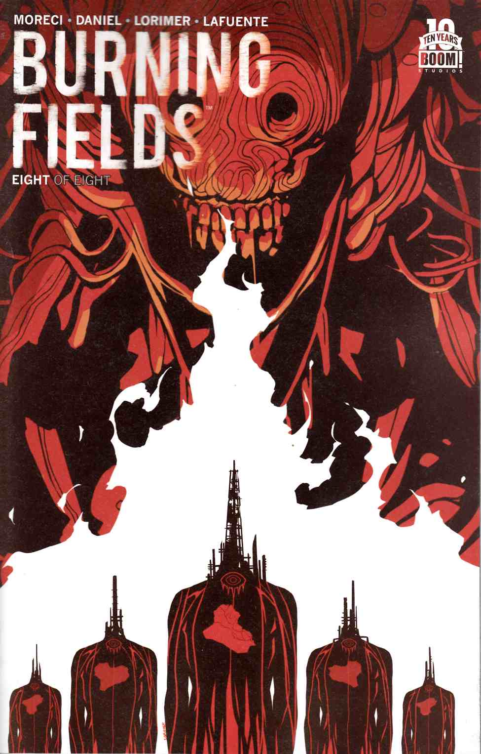 Burning Fields #8 [Boom Comic] THUMBNAIL