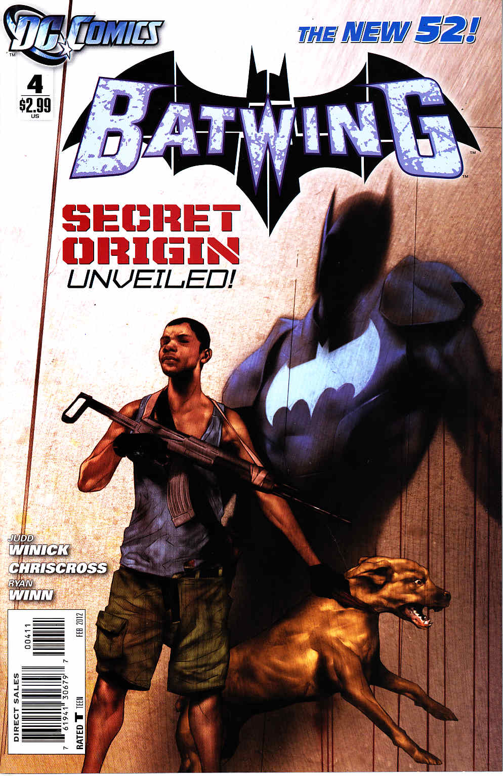 Batwing #4 [DC Comic] LARGE
