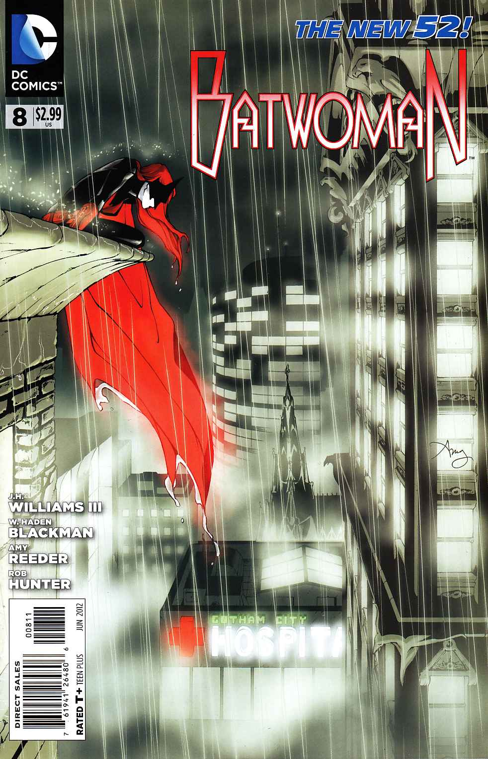Batwoman #8 [DC Comic] LARGE