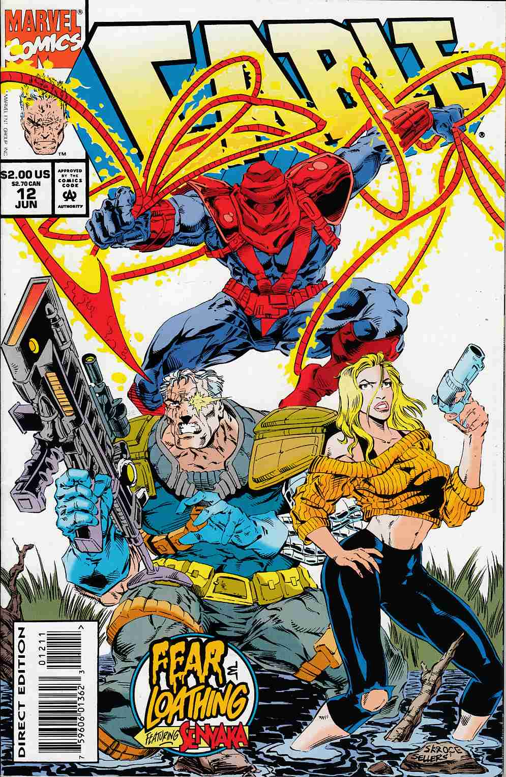 Cable #12 Very Fine (8.0) [Marvel Comic] THUMBNAIL