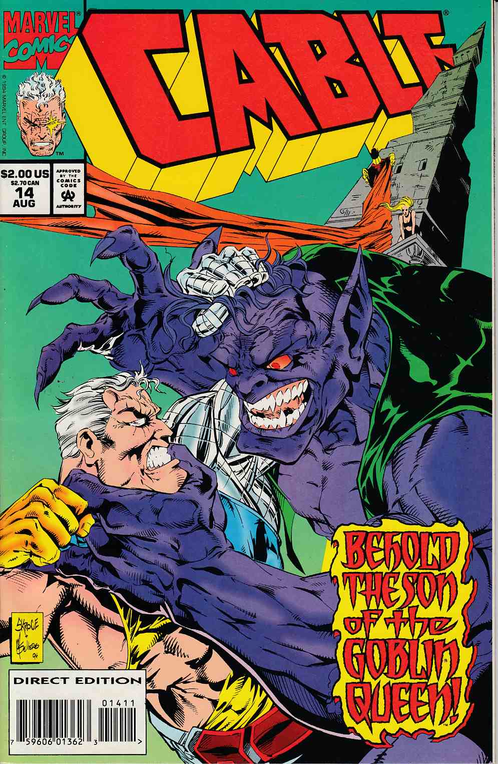 Cable #14 Very Fine (8.0) [Marvel Comic] LARGE