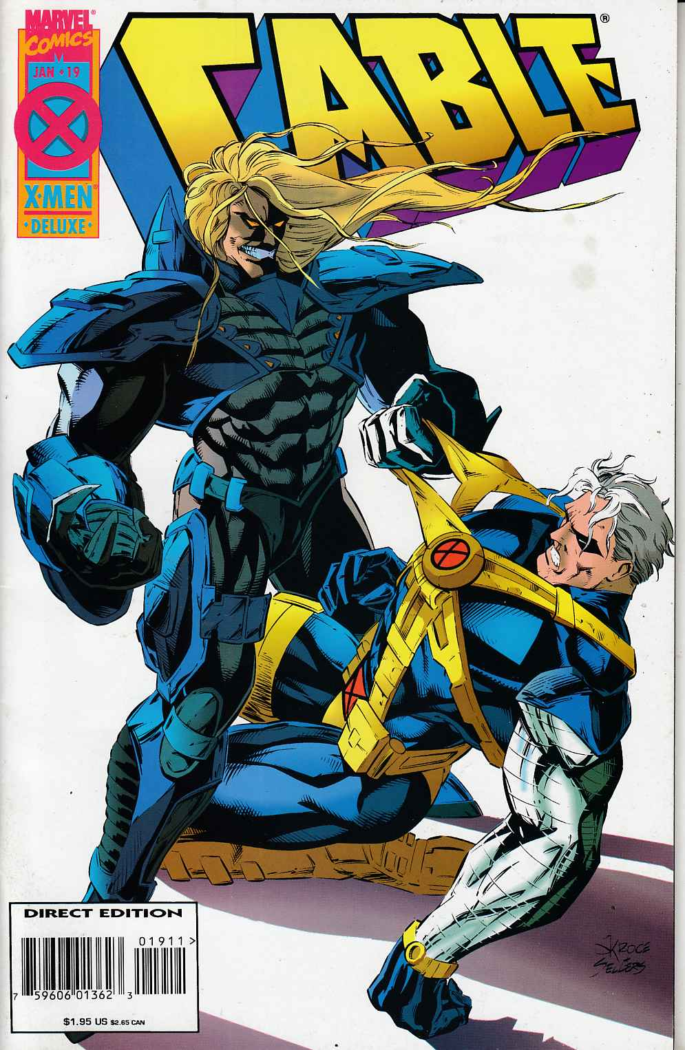 Cable #19 Very Fine Minus (7.5) [Marvel Comic] THUMBNAIL