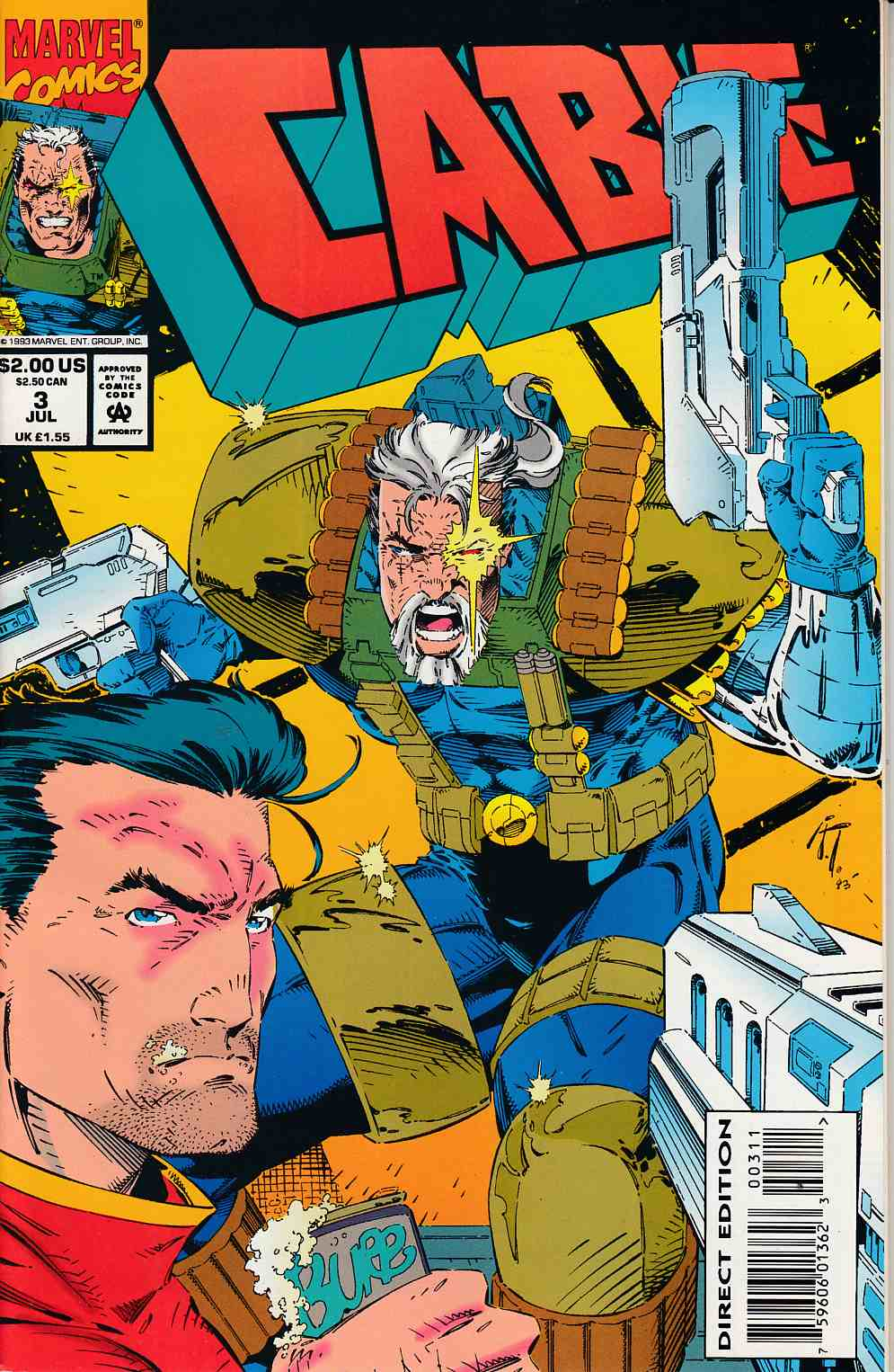 Cable #3 Fine/Very Fine (7.0) [Marvel Comic] THUMBNAIL
