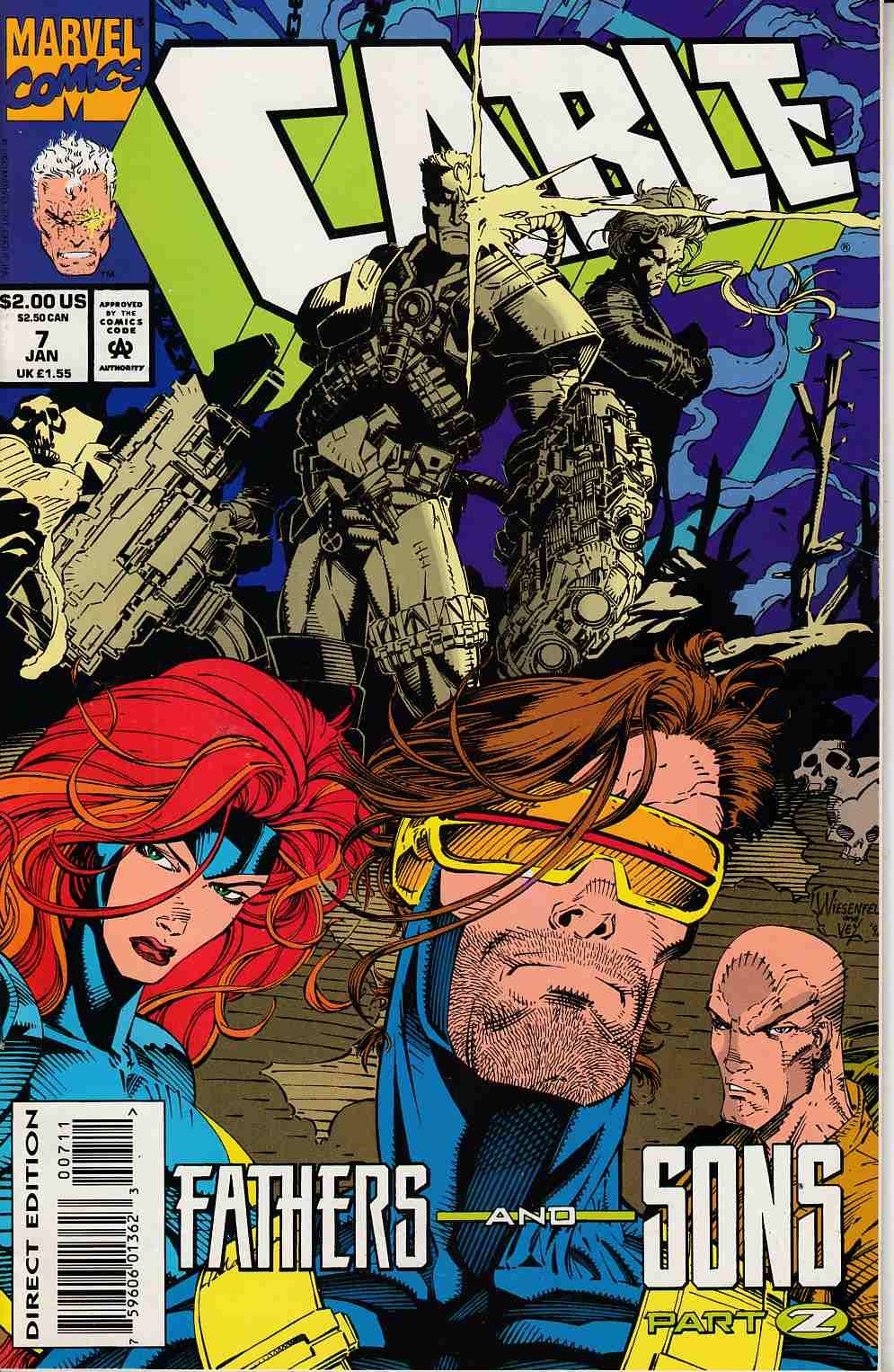Cable #7 Very Fine (8.0) [Marvel Comic] THUMBNAIL
