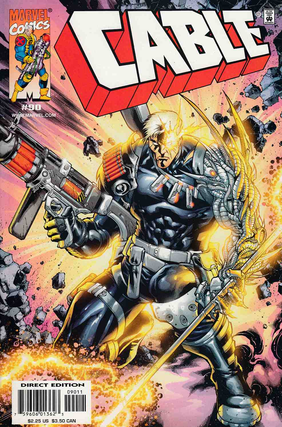 Cable #90 Near Mint (9.4) [Marvel Comic] LARGE