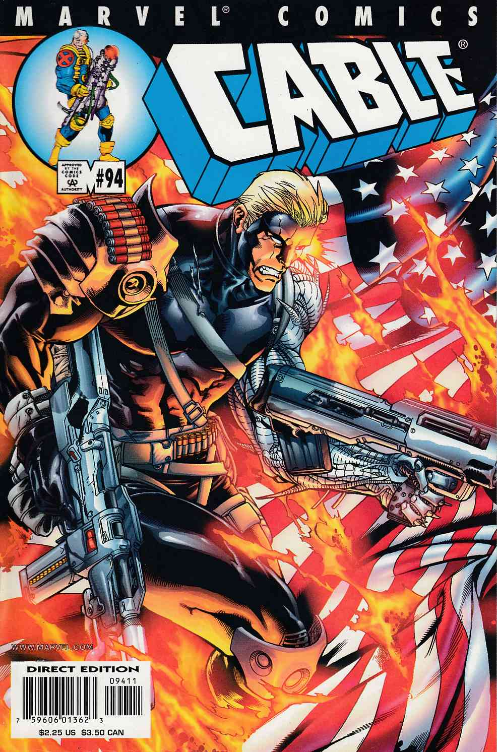 Cable #94 Near Mint (9.4) [Marvel Comic] LARGE